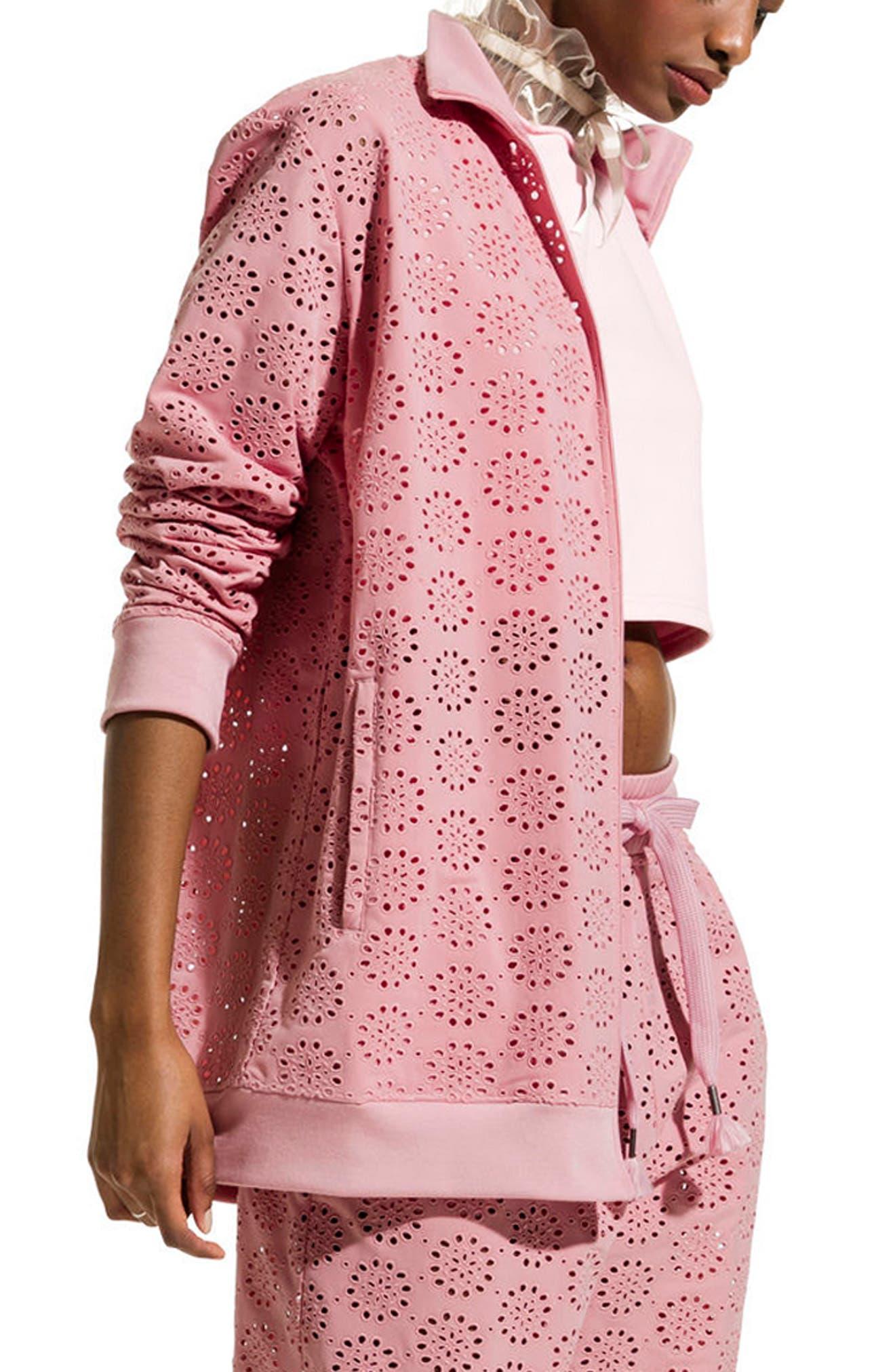 FENTY PUMA by Rihanna Eyelet Track Jacket