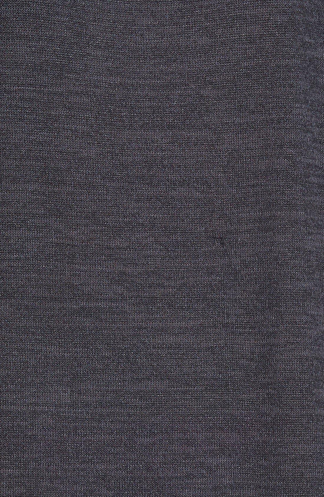 Alternate Image 3  - Bobeau Three Quarter Dolman Sleeve Sweater Dress