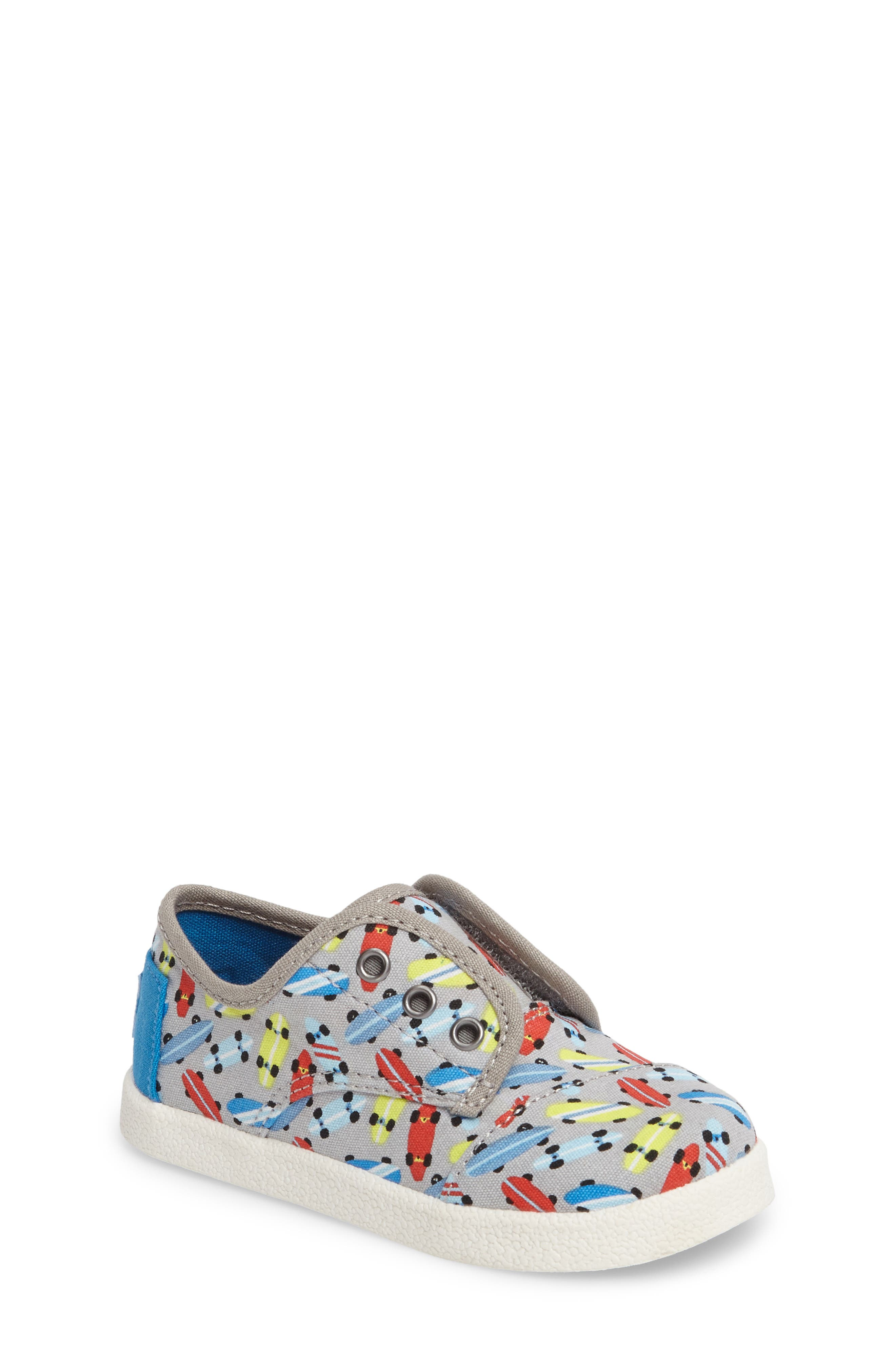 TOMS Paseo Sneaker (Baby, Walker & Toddler)