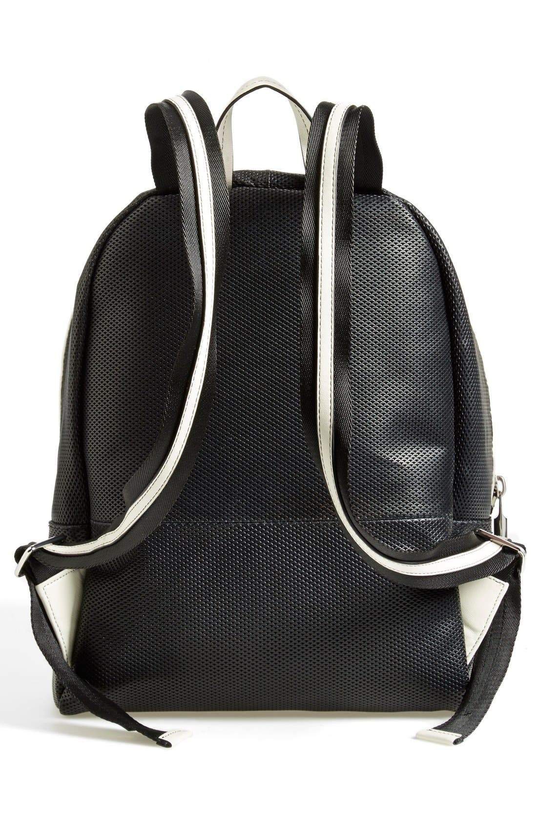 Alternate Image 4  - Elizabeth and James 'Cynnie' Perforated Leather Backpack