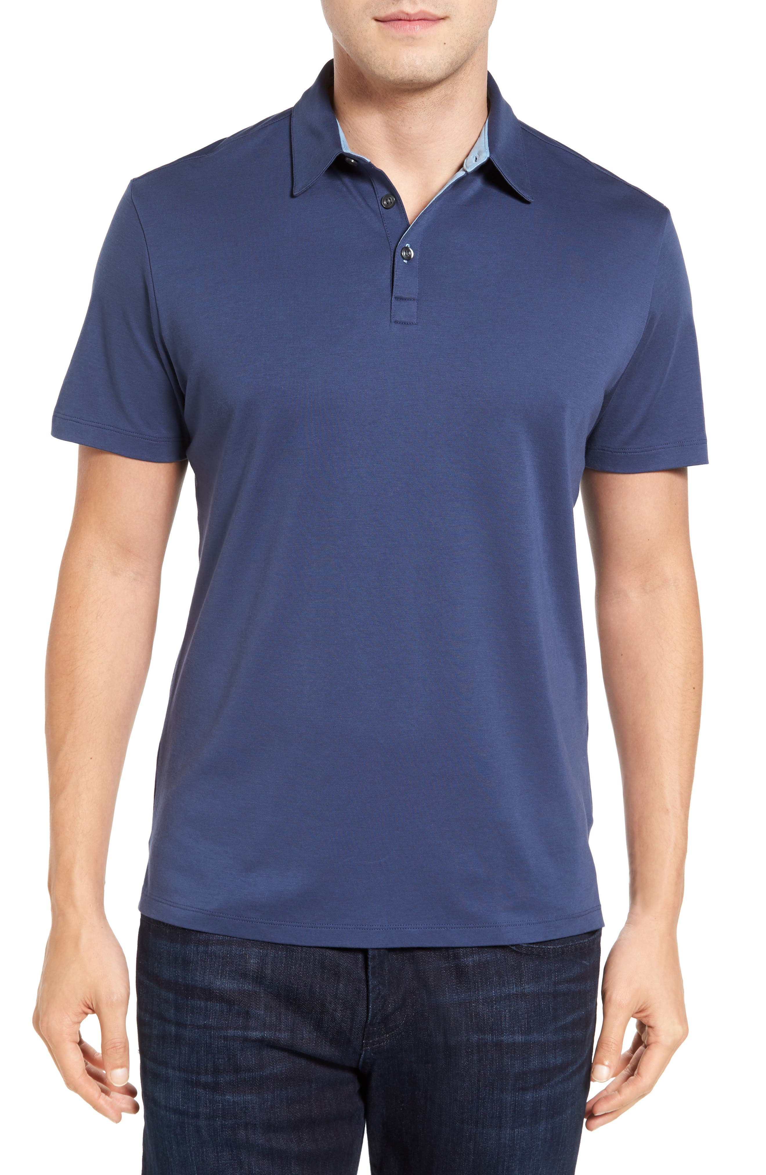 Robert Barakett Batiste Pima Cotton Polo