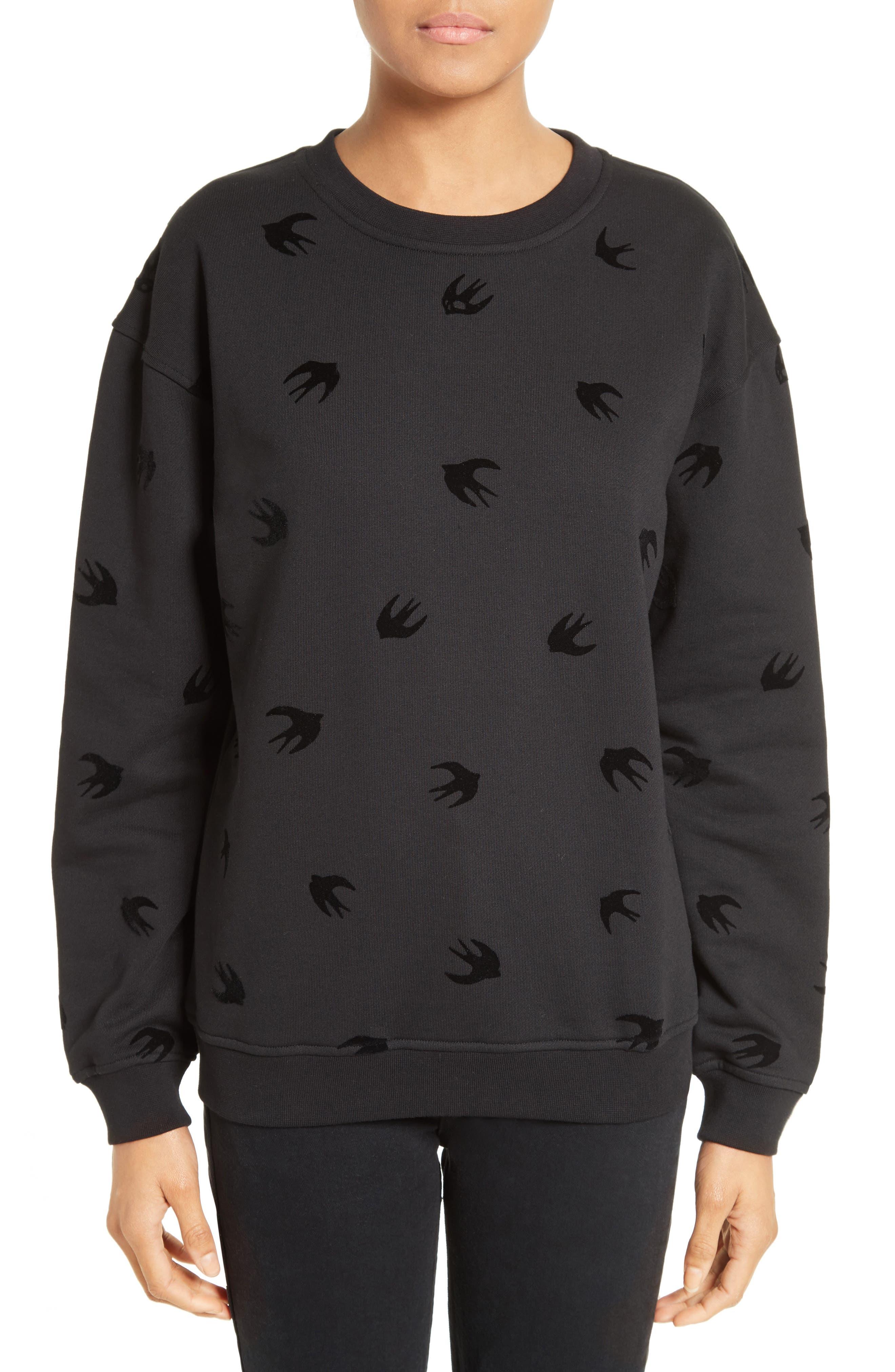 McQ Alexander McQueen Swallow Classic Sweatshirt