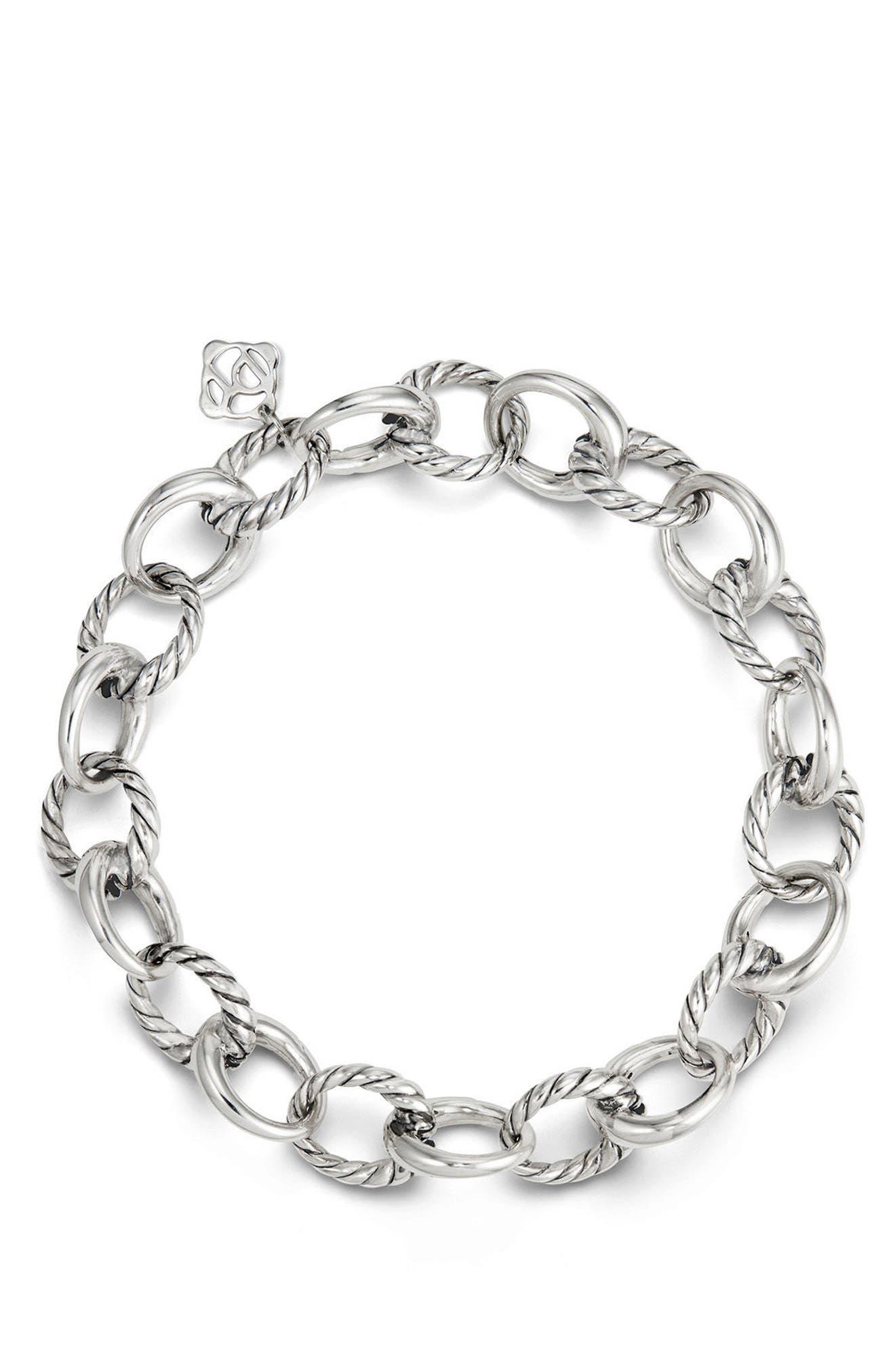 Alternate Image 2  - David Yurman Cable Collectives Oval Link Charm Bracelet