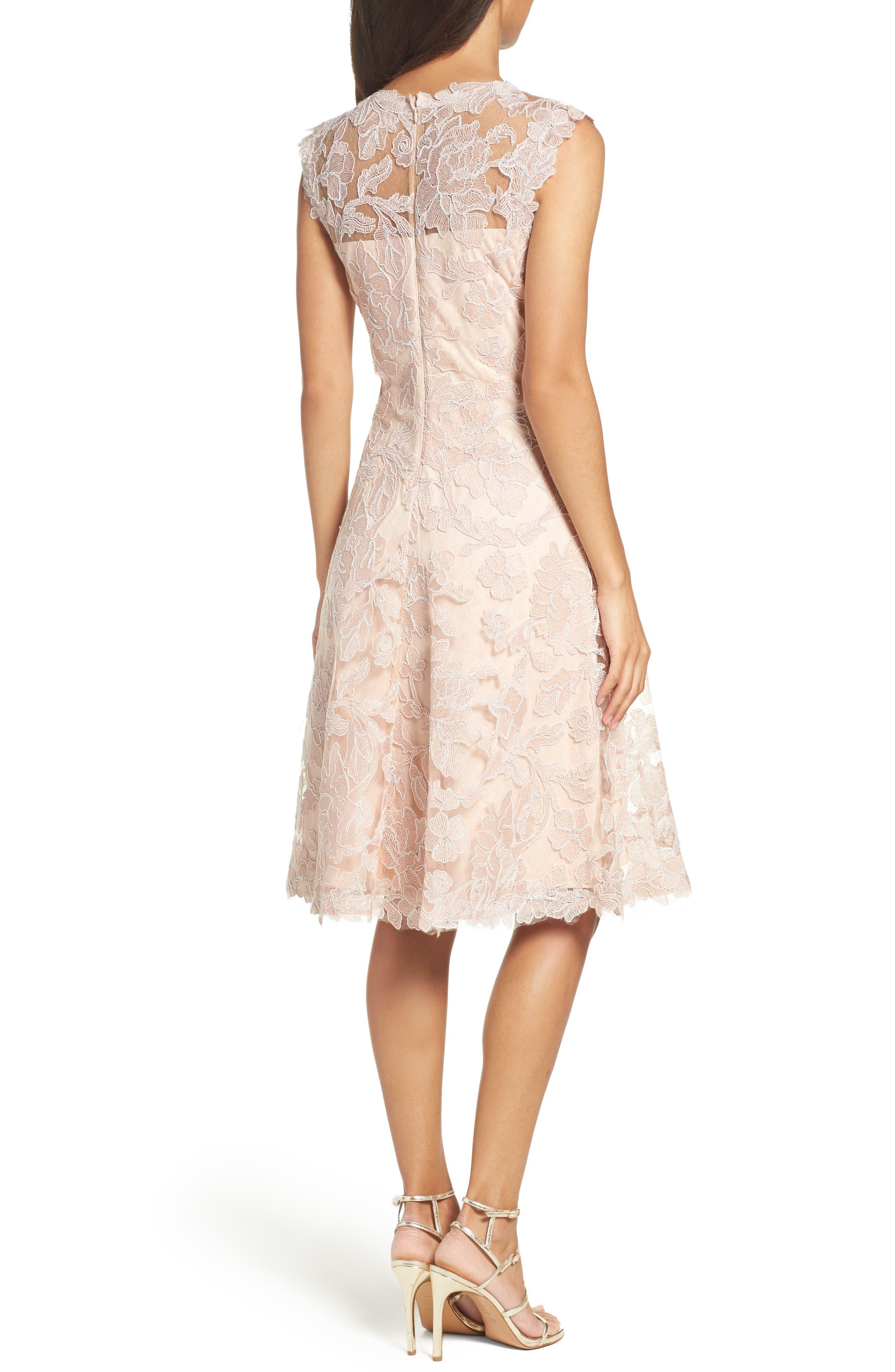 Alternate Image 2  - Tadashi Shoji Fit & Flare Dress