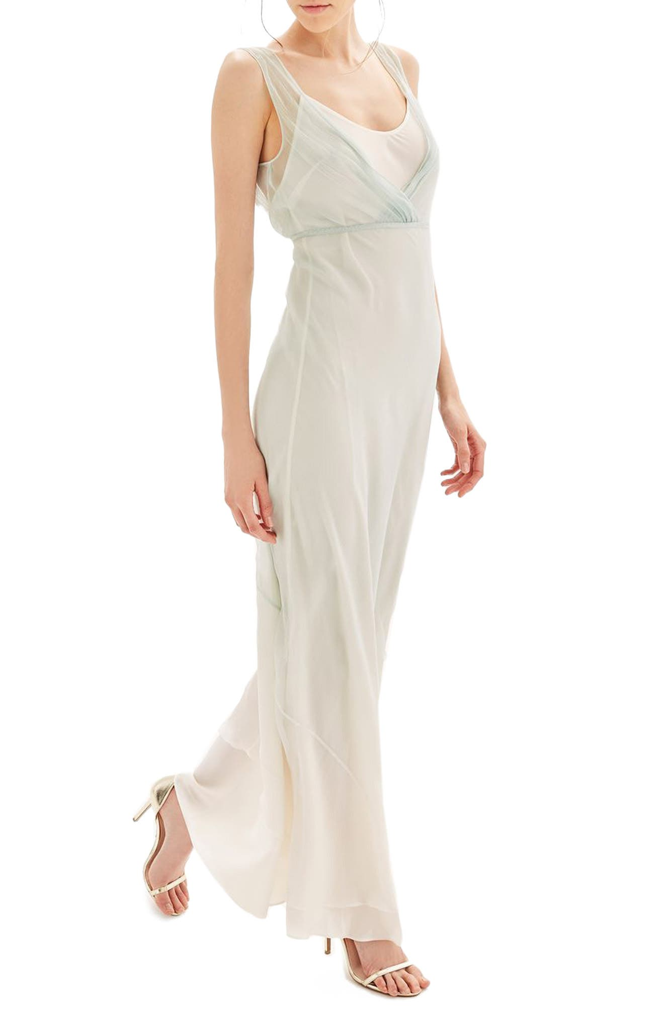 Topshop Bride Column Gown
