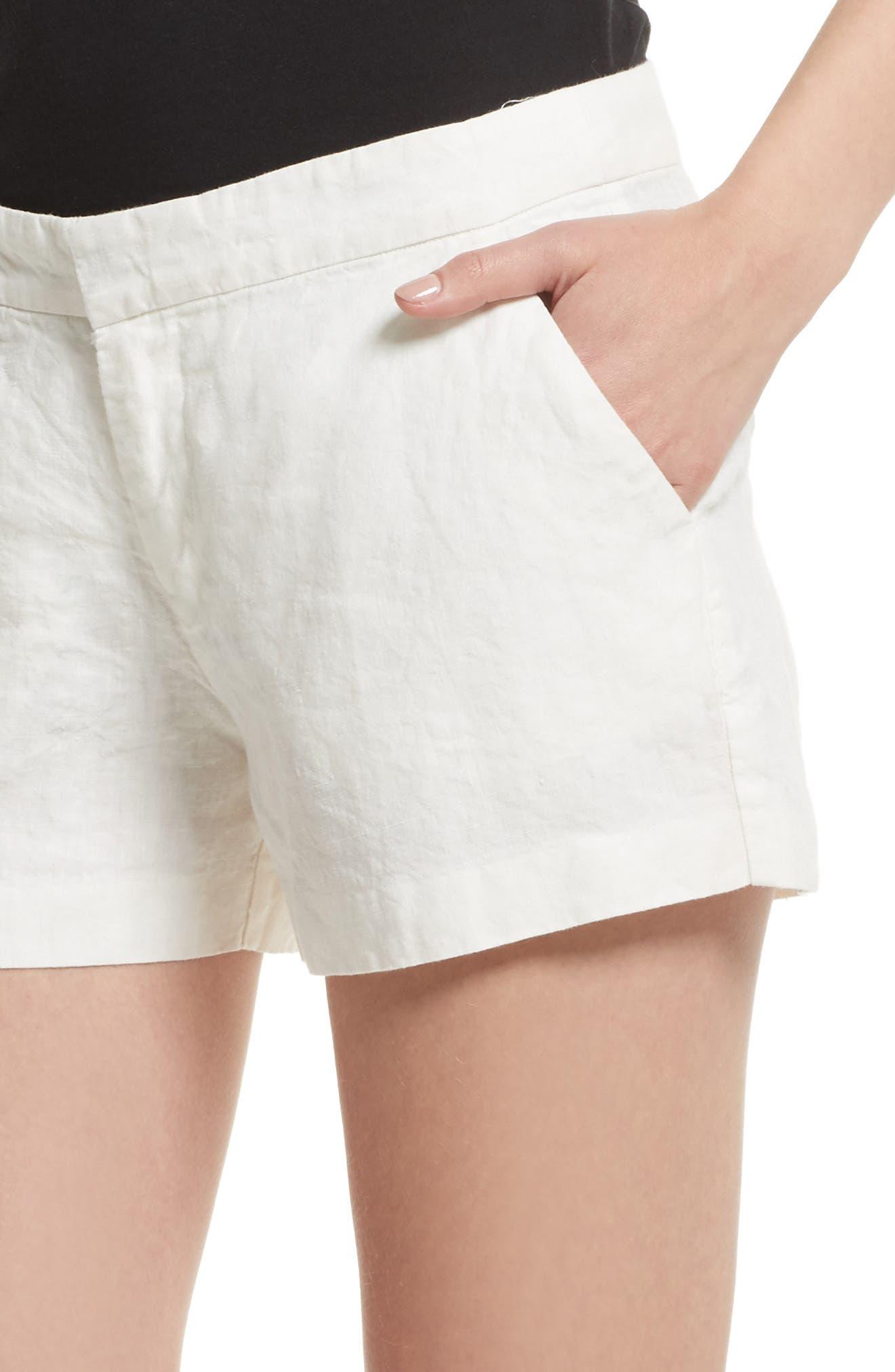 Alternate Image 4  - Joie 'Merci' Linen Shorts