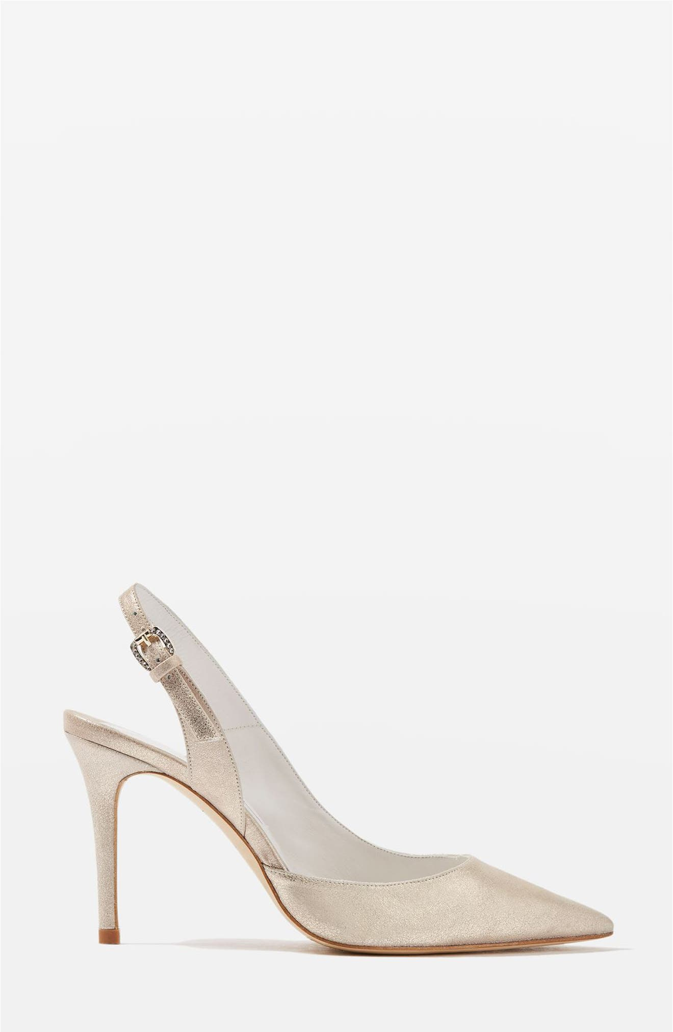 Topshop Bride Bailey Pointy Toe Pumps (Women)