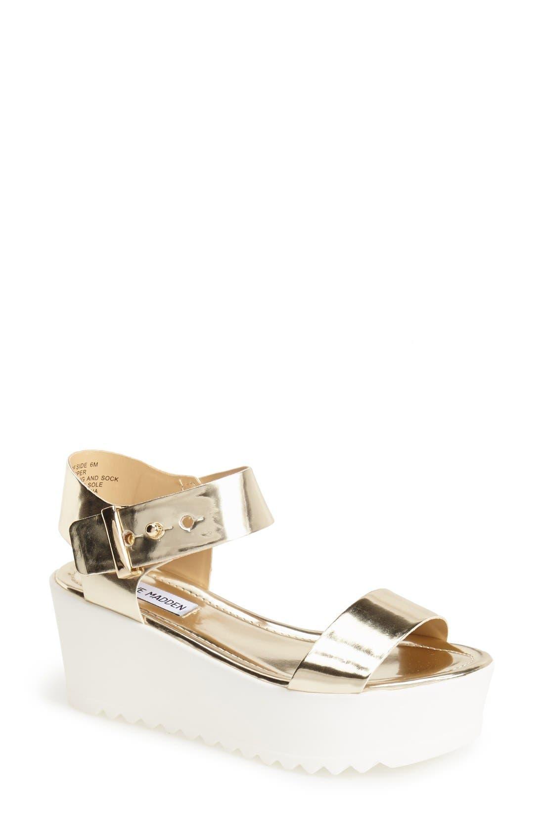 Alternate Image 1 Selected - Steve Madden 'Surfside' Platform Sandal (Women)