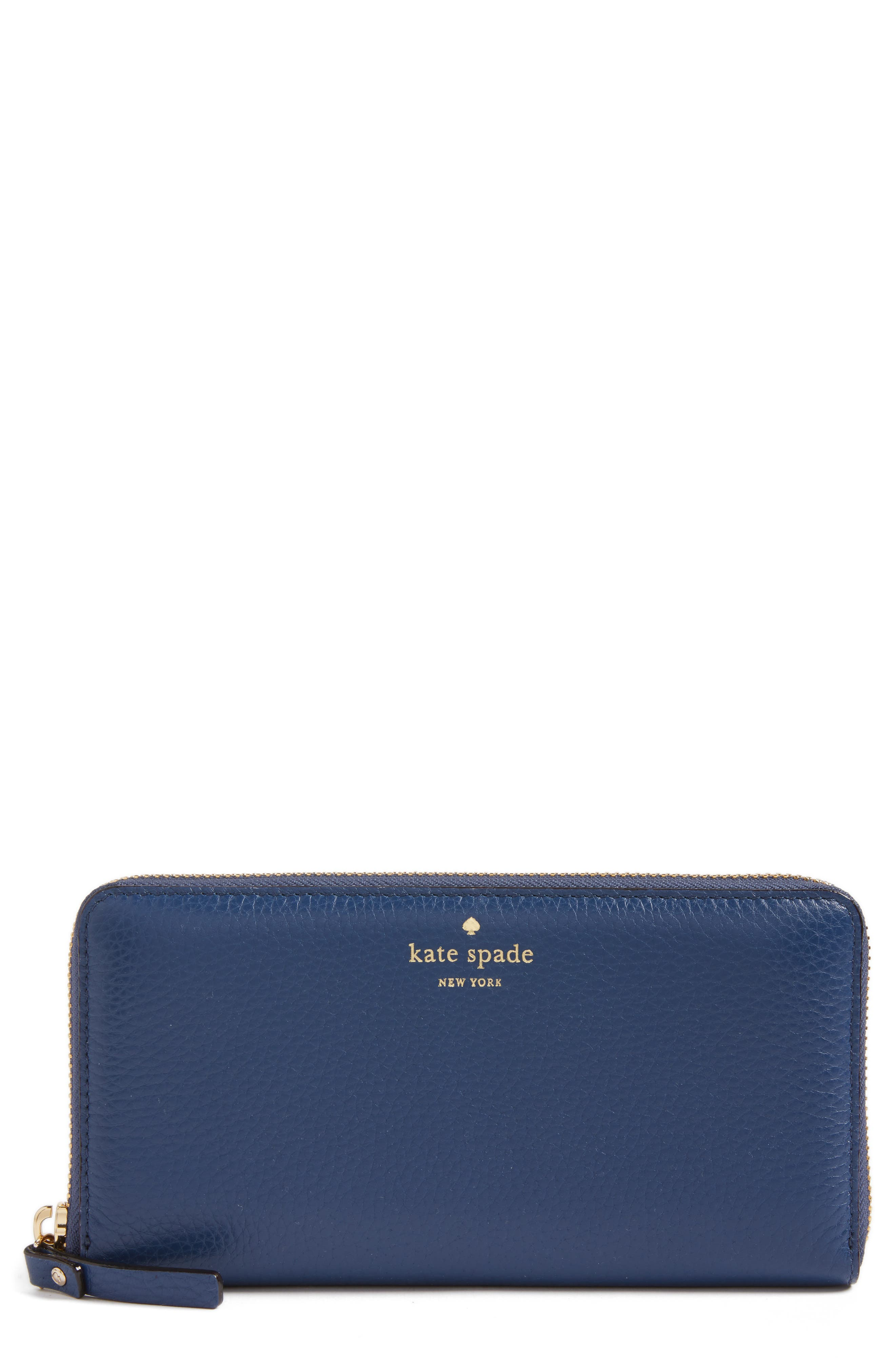 Alternate Image 1 Selected - kate spade new york young lane - lacey leather wallet