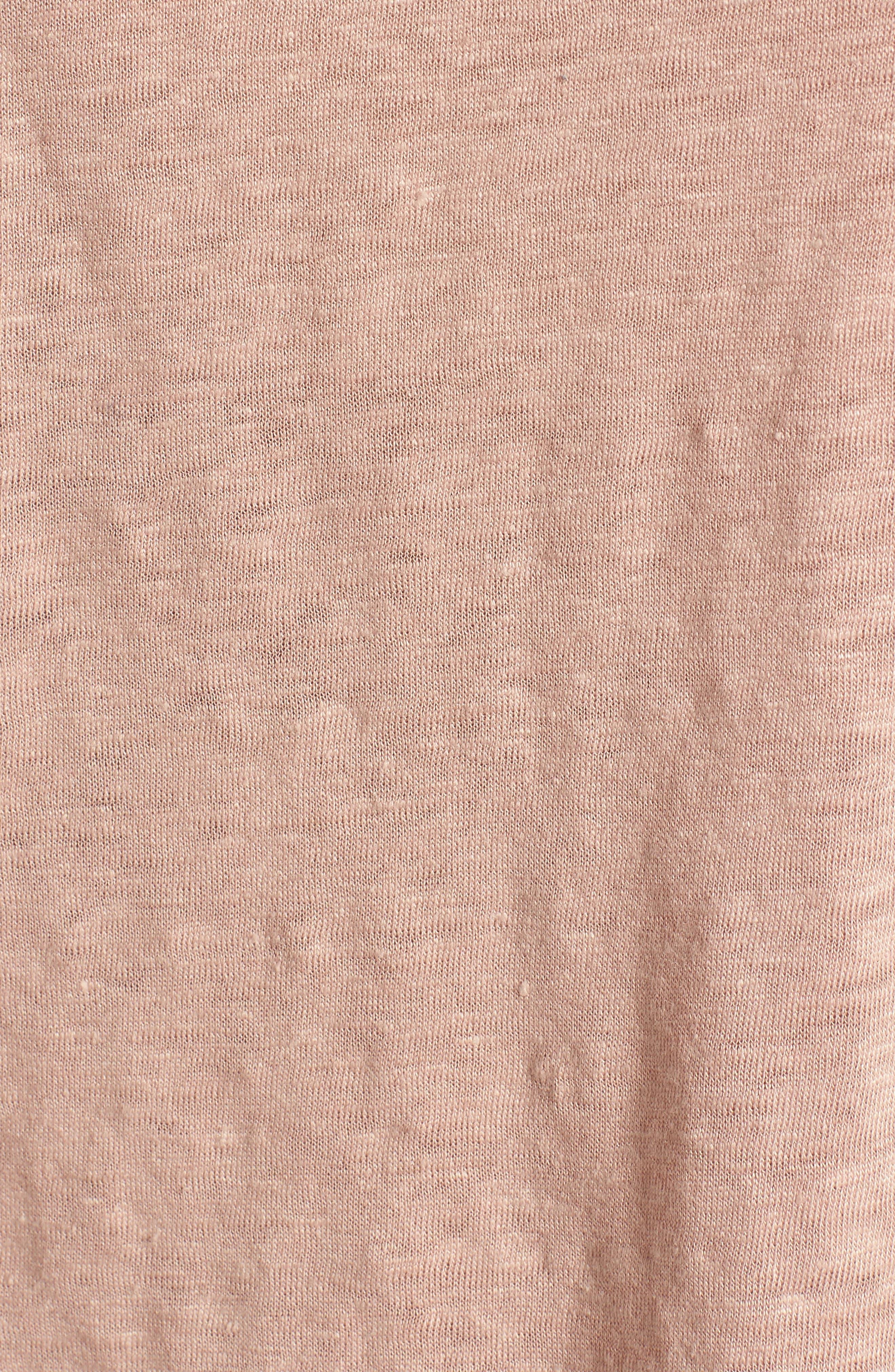 Alternate Image 5  - Madewell Modern Linen Gather Top