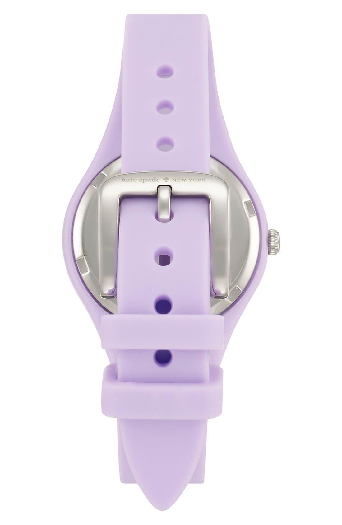 Alternate Image 2  - kate spade new york 'rumsey' plastic strap watch, 30mm