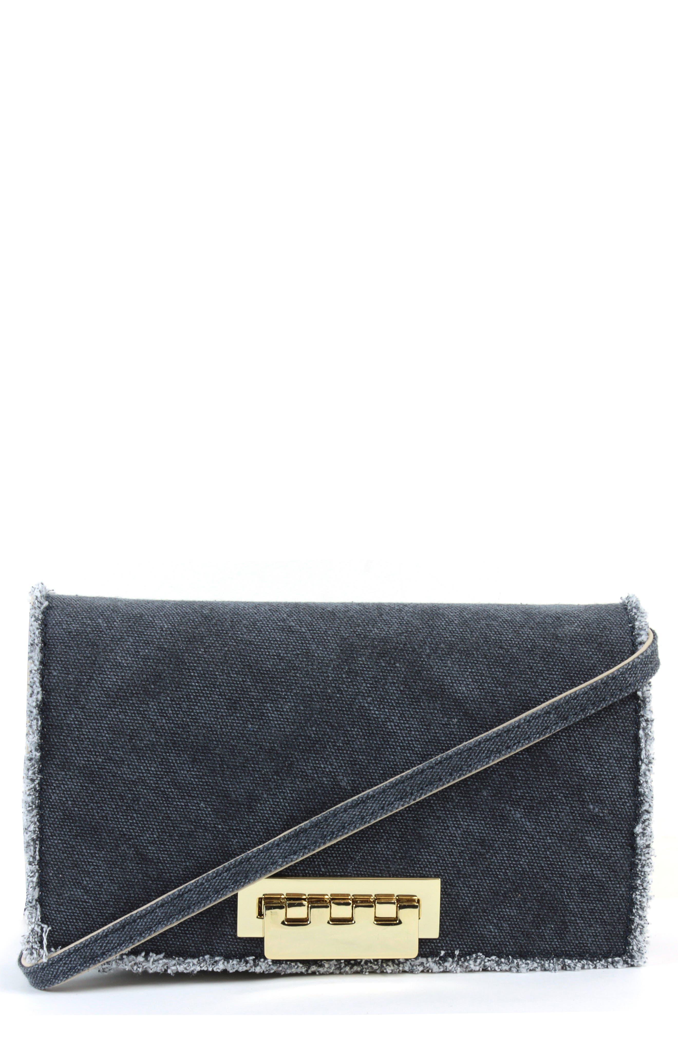ZAC Zac Posen Earthette Denim Crossbody Bag