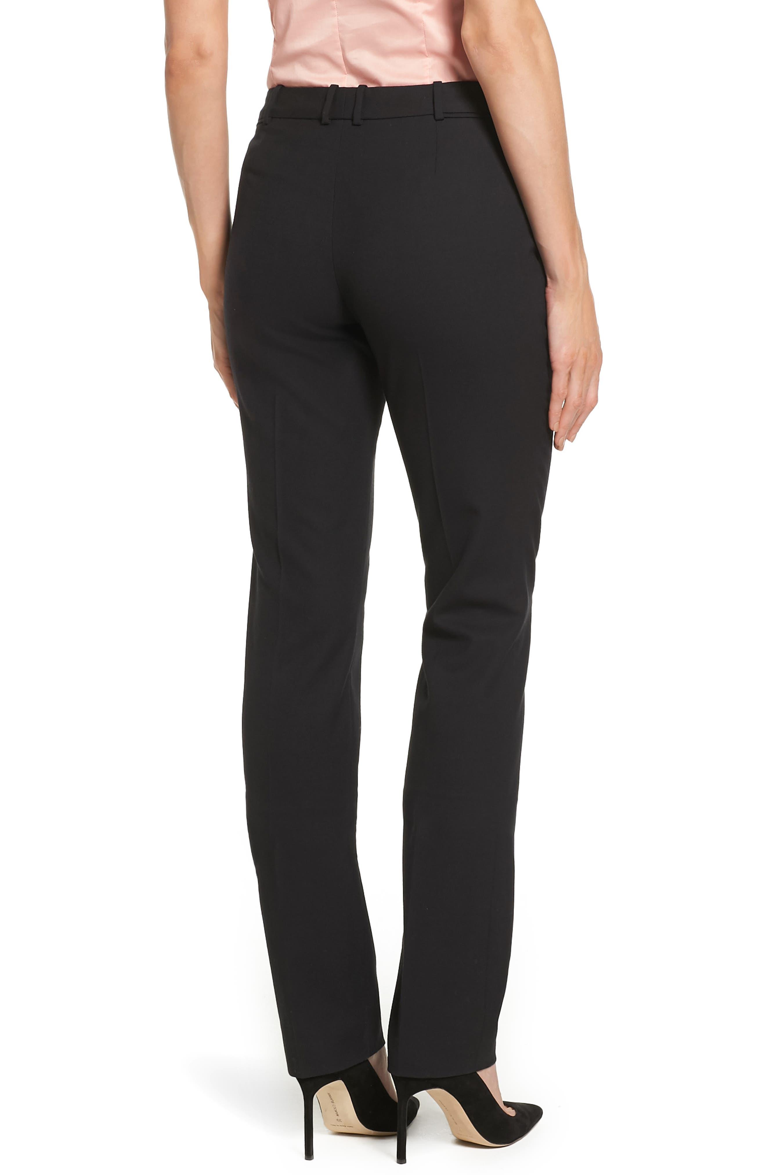 Alternate Image 3  - BOSS Titana Stretch Wool Trousers (Petite)