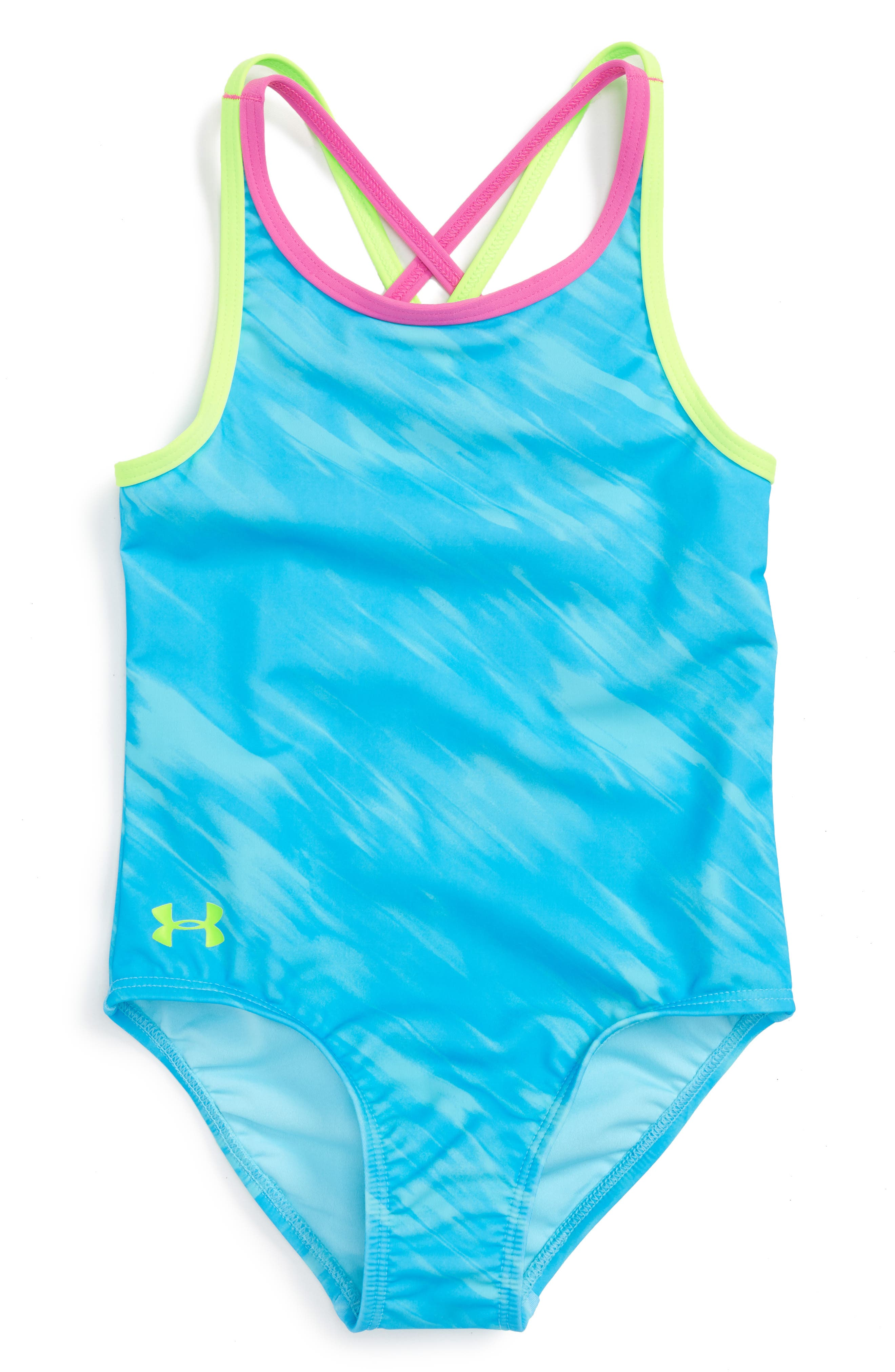 Under Armour Oasis One-Piece Swimsuit (Little Girls)