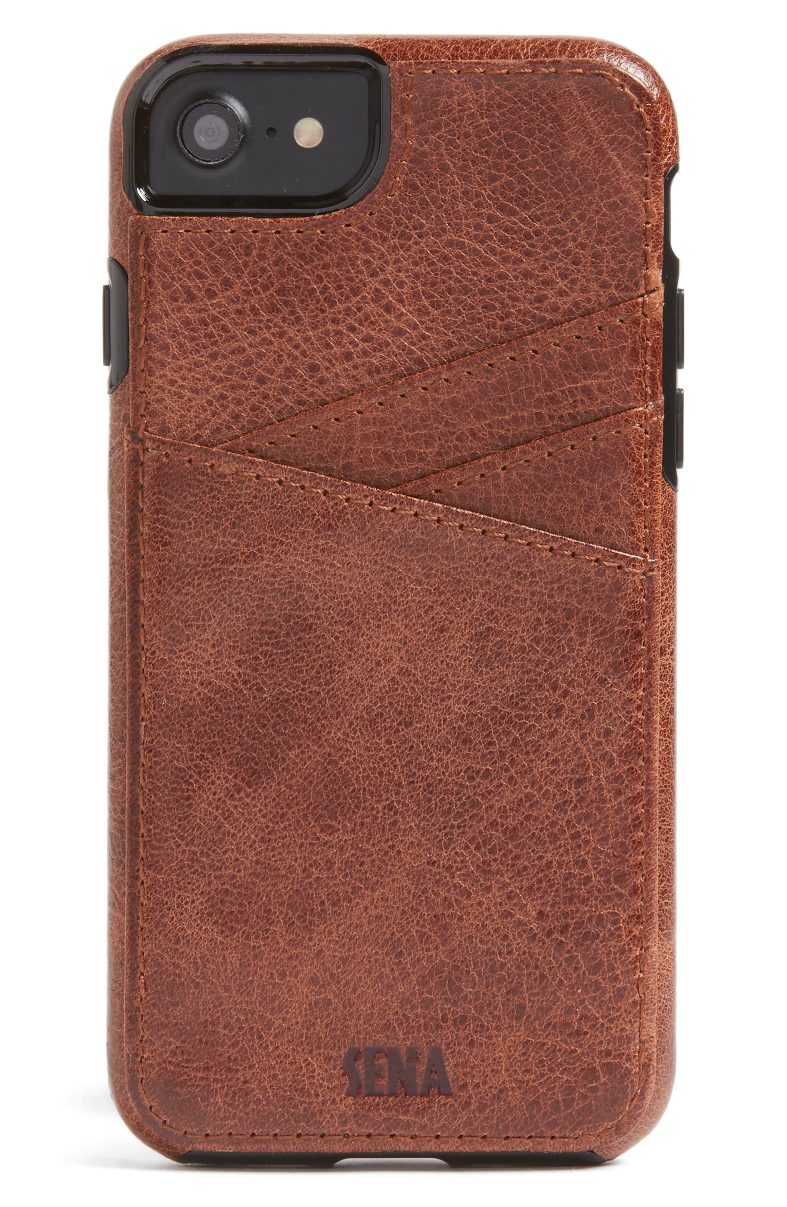Sena Lugano iPhone 7 Wallet Case