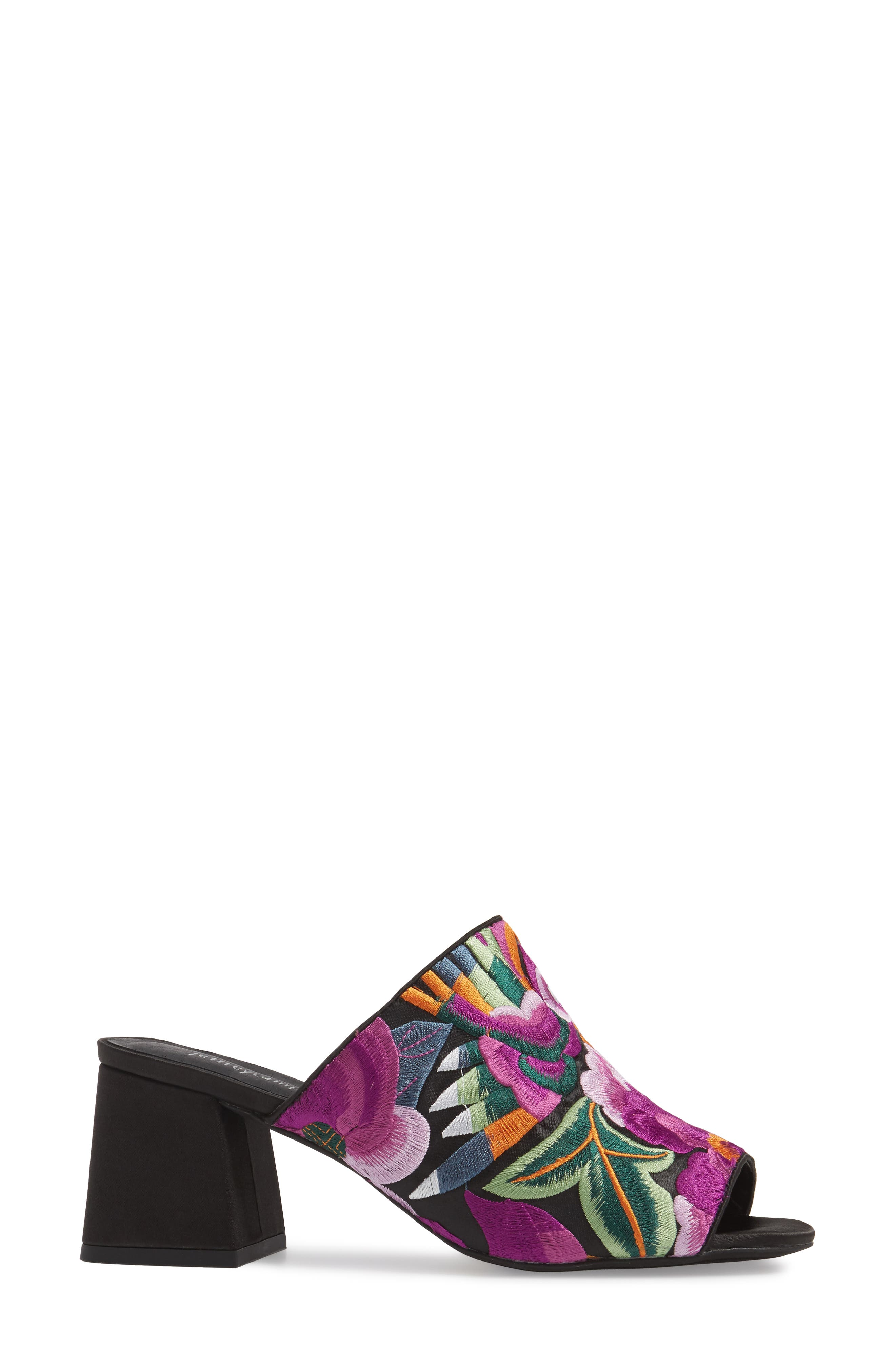 Alternate Image 3  - Jeffrey Campbell Perpetua Embroidered Open-Toe Mule (Women)