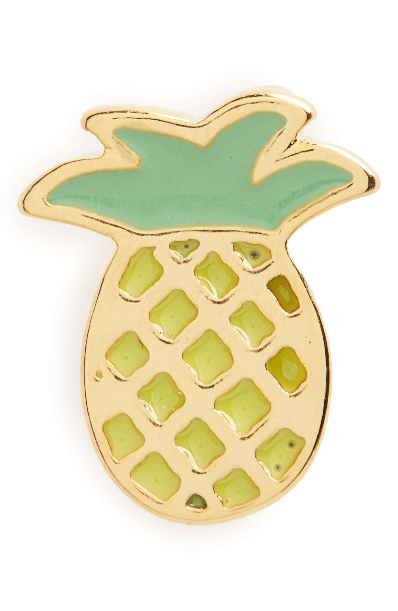 Alternate Image 1 Selected - Dogeared Pineapplicious Pin