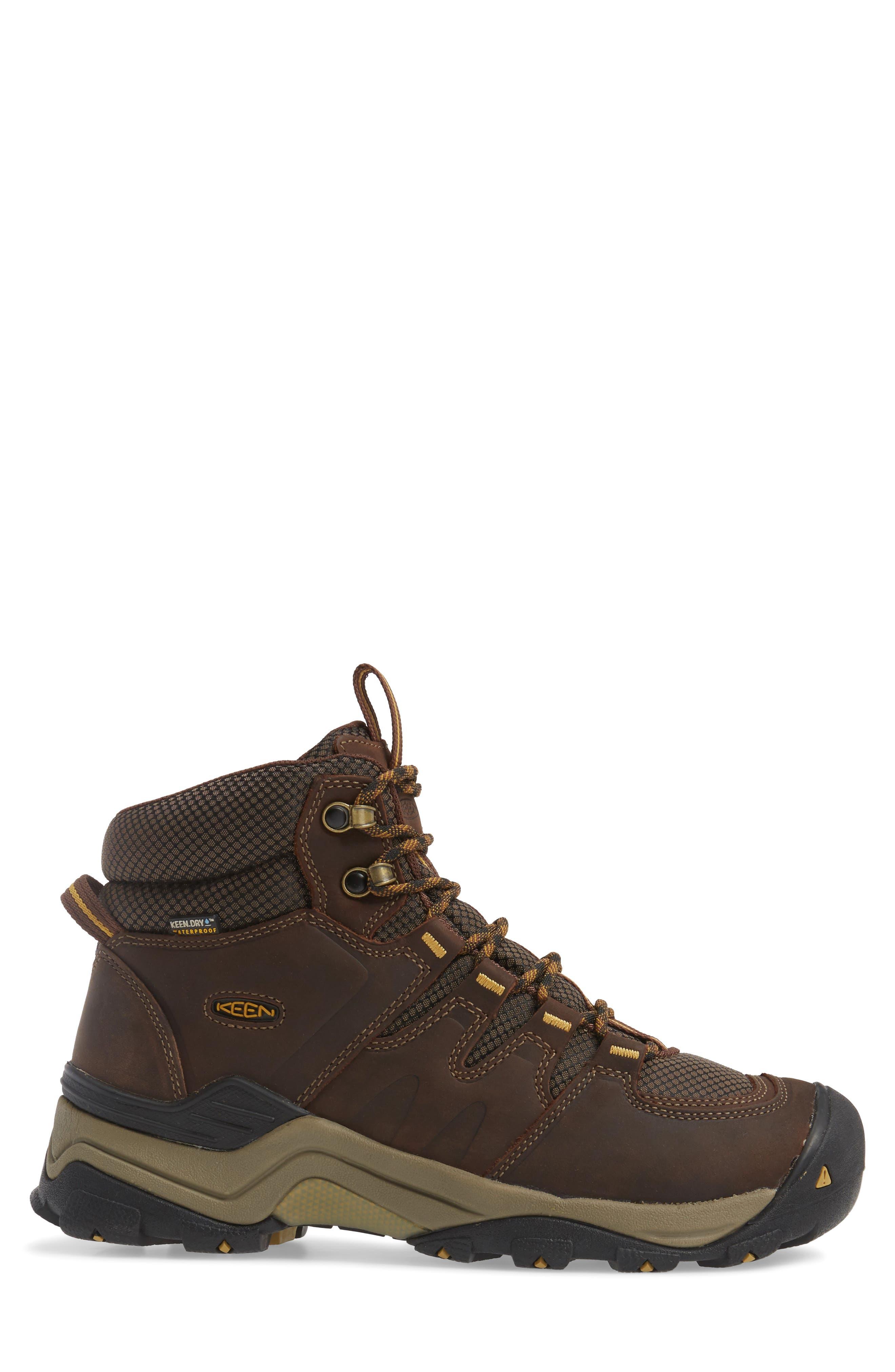 Alternate Image 3  - Keen Gypsum II Waterproof Hiking Boot (Men)