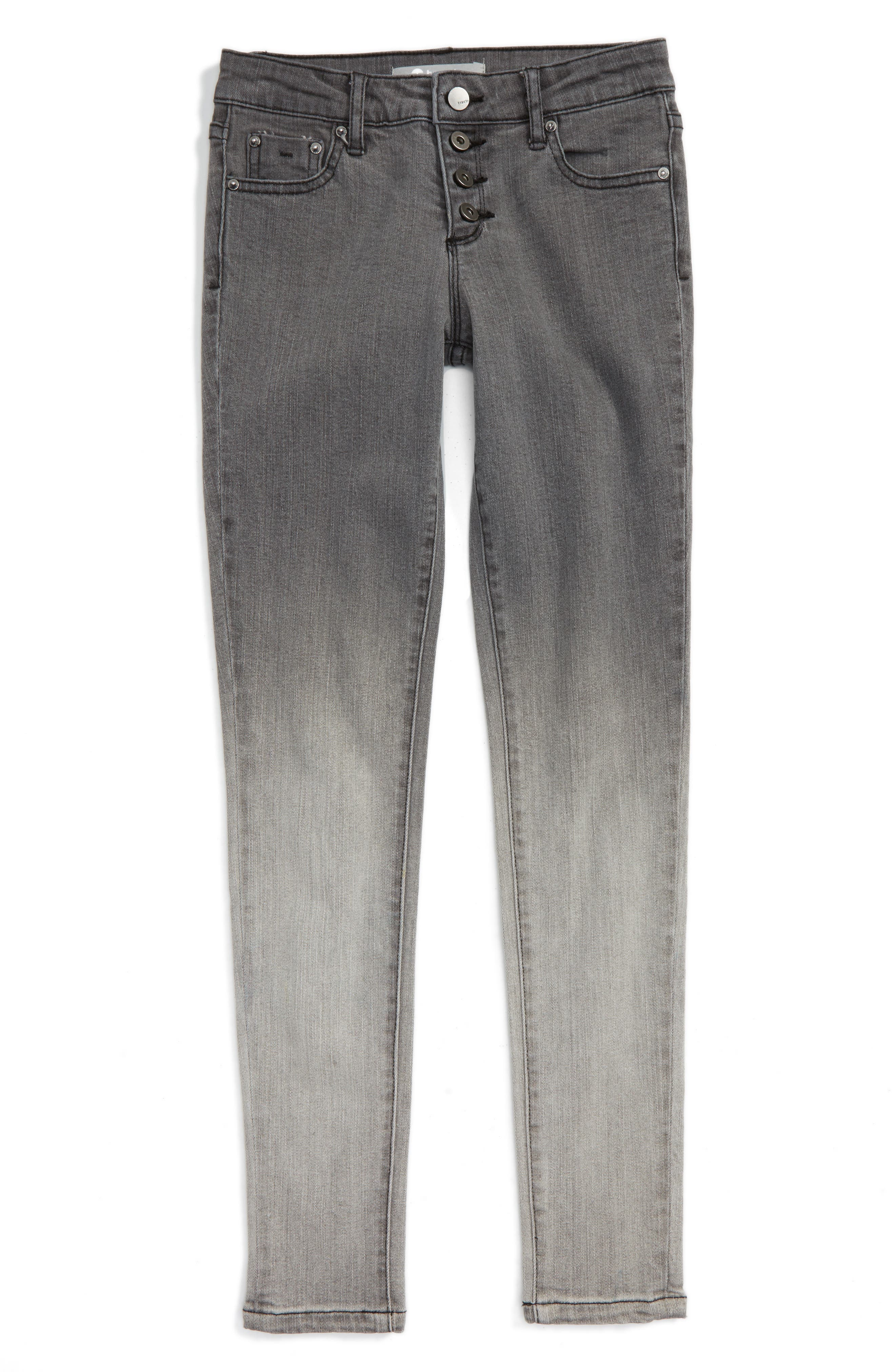Tractr Ombré Stretch Cotton Jeans (Big Girls)