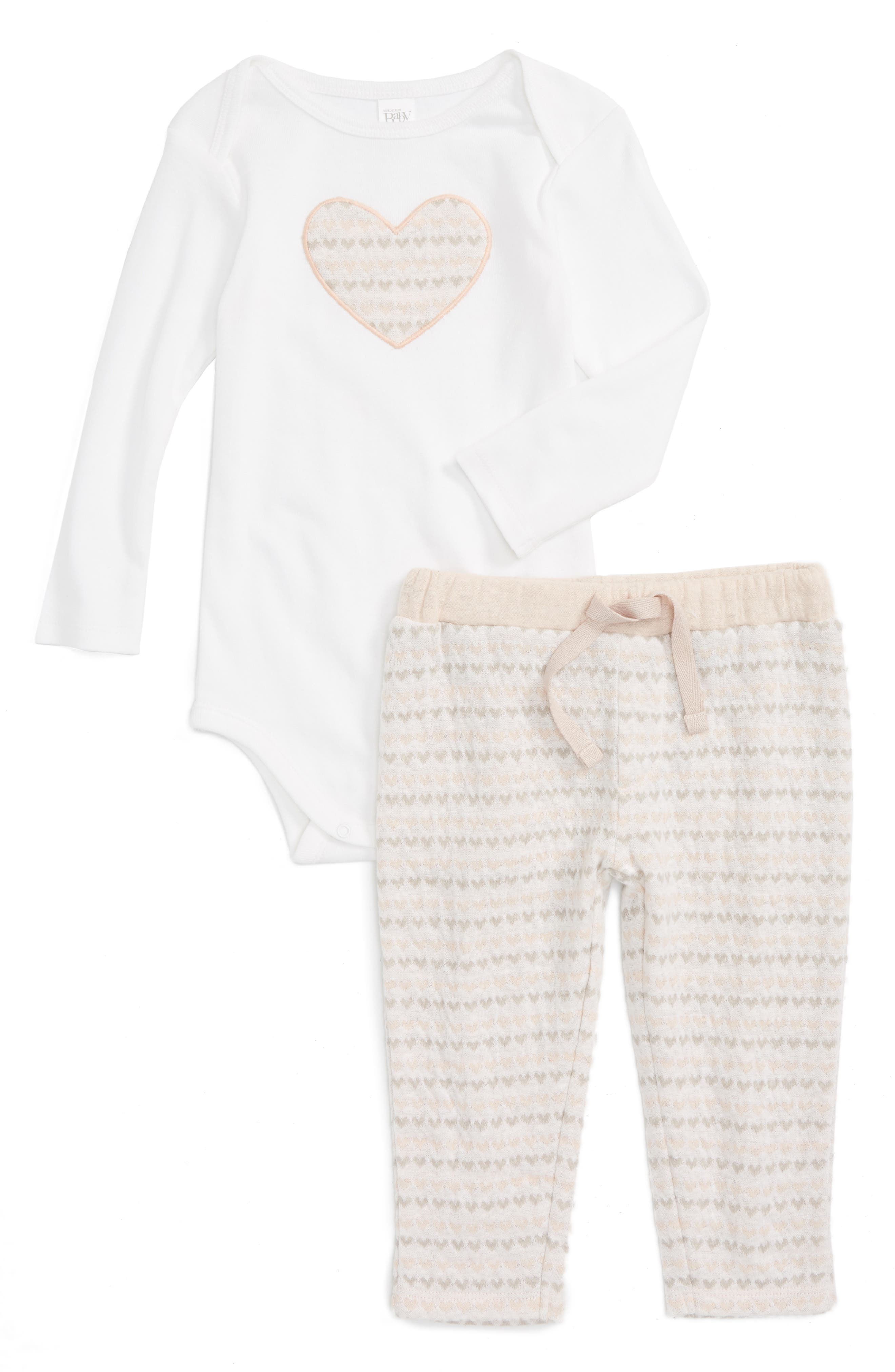 Nordstrom Baby Bodysuit & Pants Set (Baby Girls)