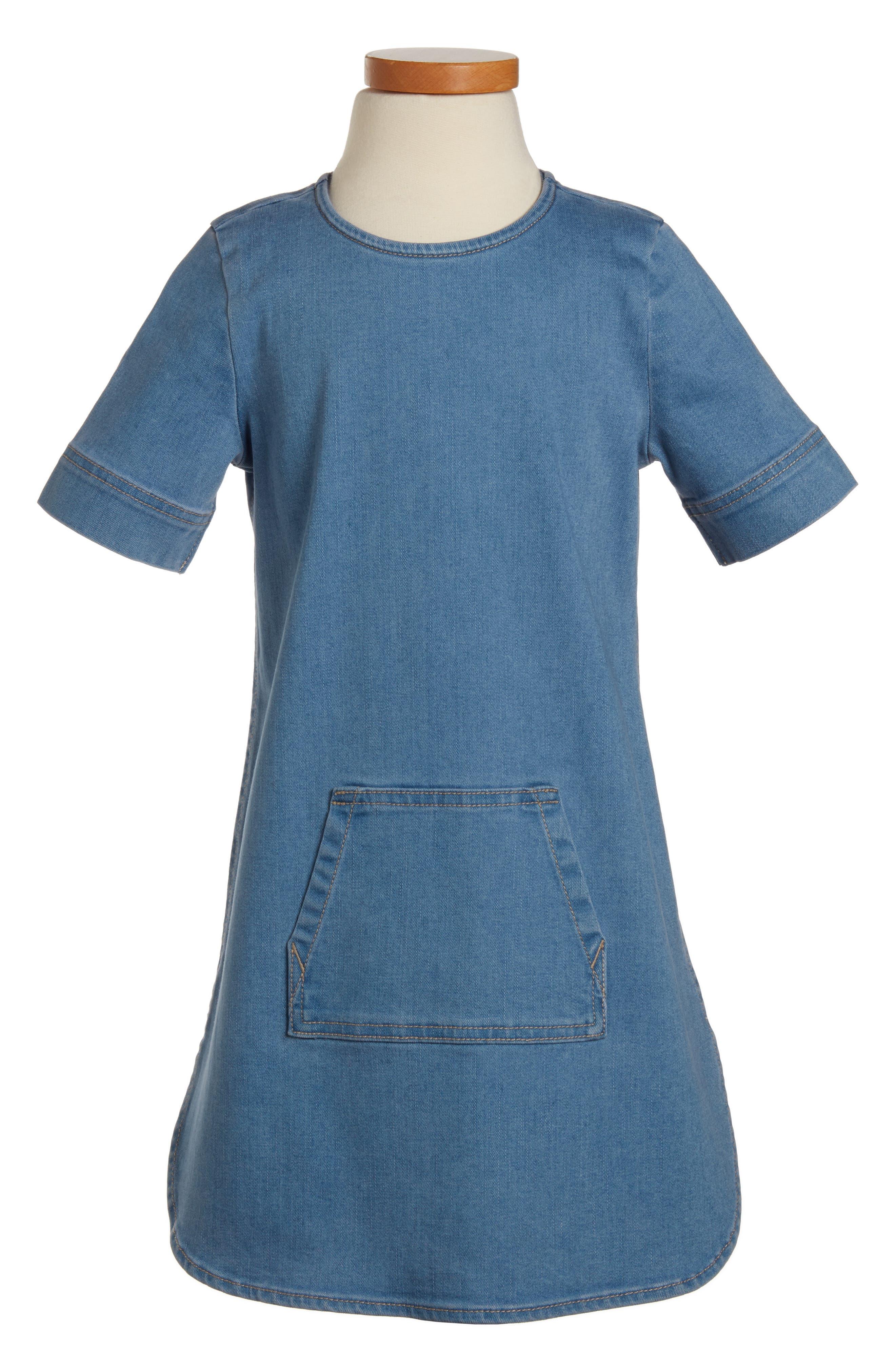 Tucker + Tate Denim Shift Dress (Toddler Girls, Little Girls & Big Girls)