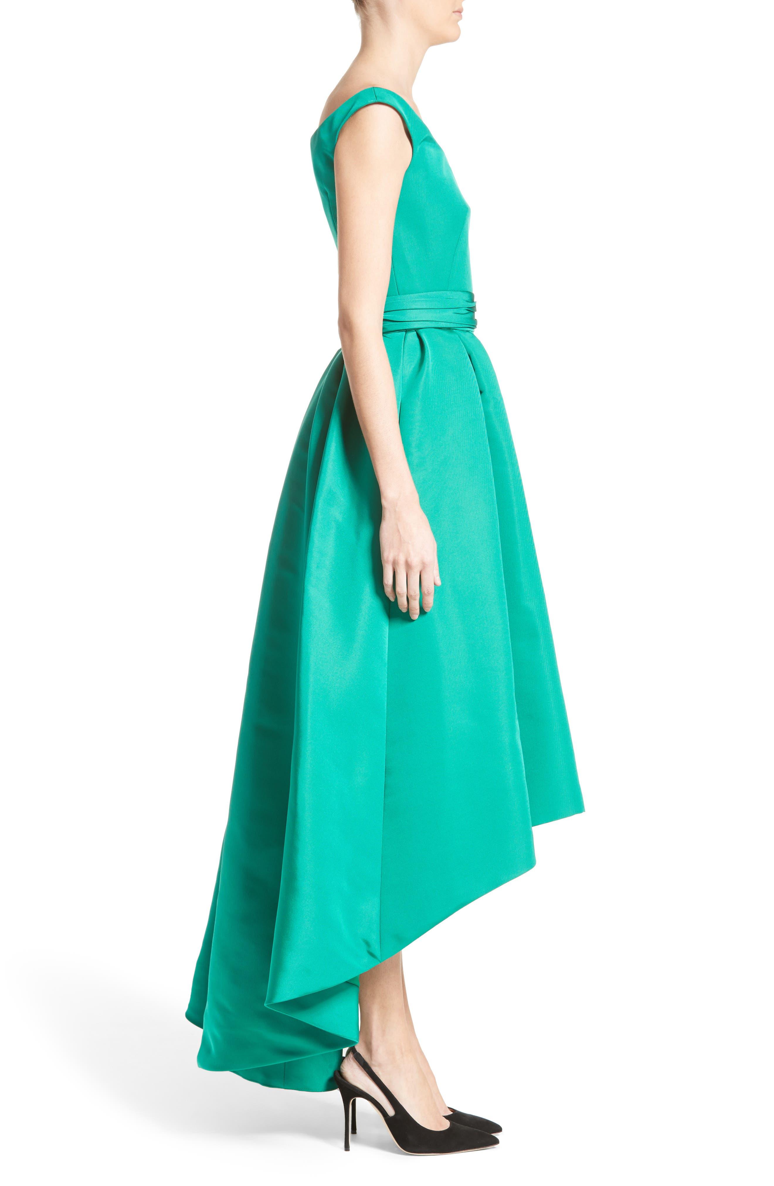 Alternate Image 3  - Carolina Herrera Off the Shoulder Silk Faille Gown