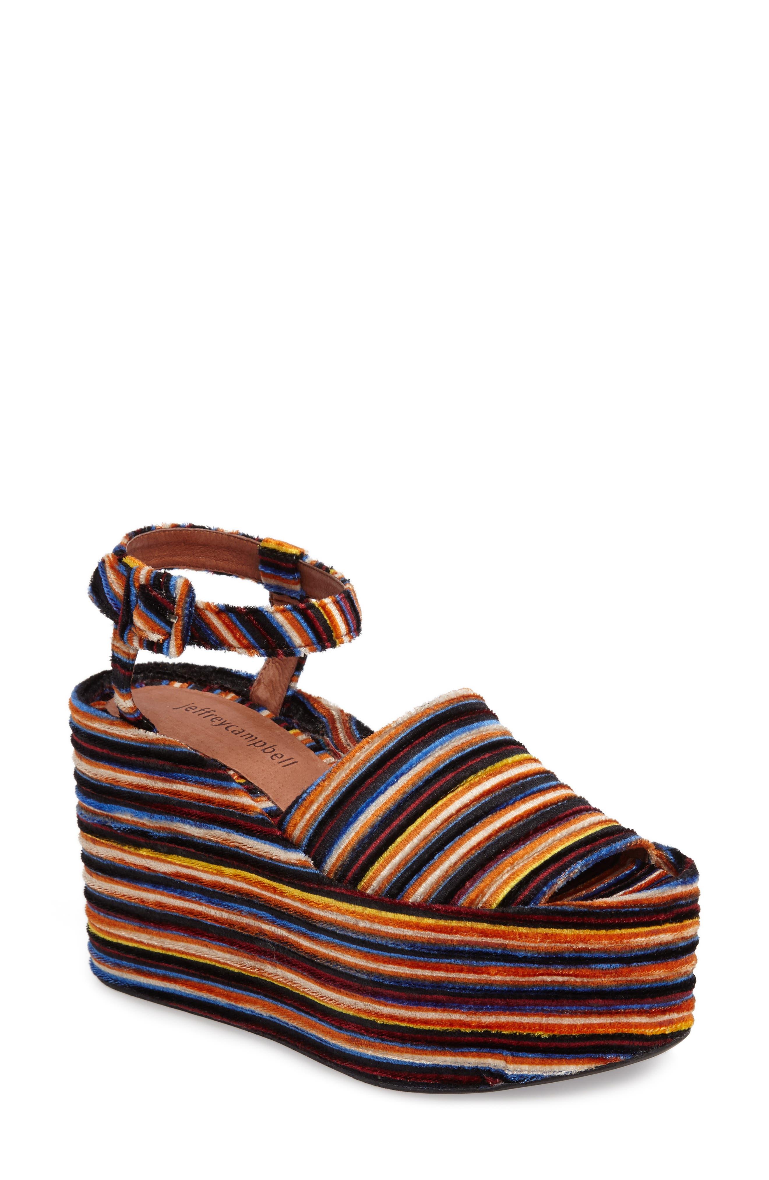 Alternate Image 1 Selected - Jeffrey Campbell Chynna Platform Sandal (Women)
