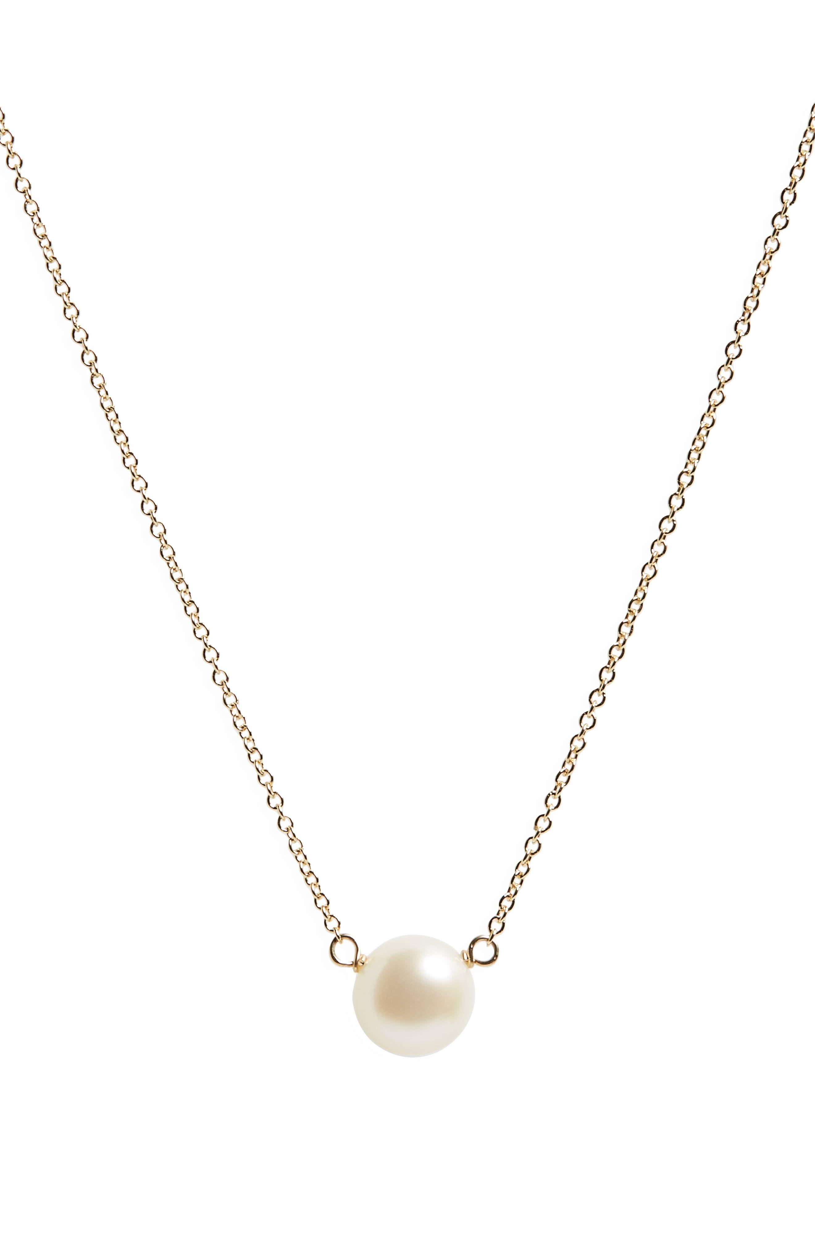 Alternate Image 3  - Dogeared I Love Mom Pearl Pendant Necklace