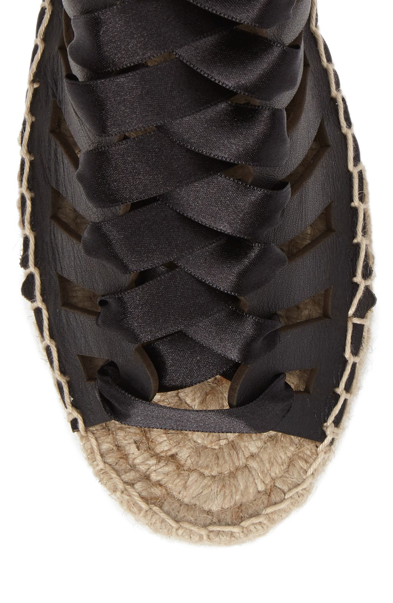 Alternate Image 5  - Topshop Krown Wraparound Platform Sandal (Women)