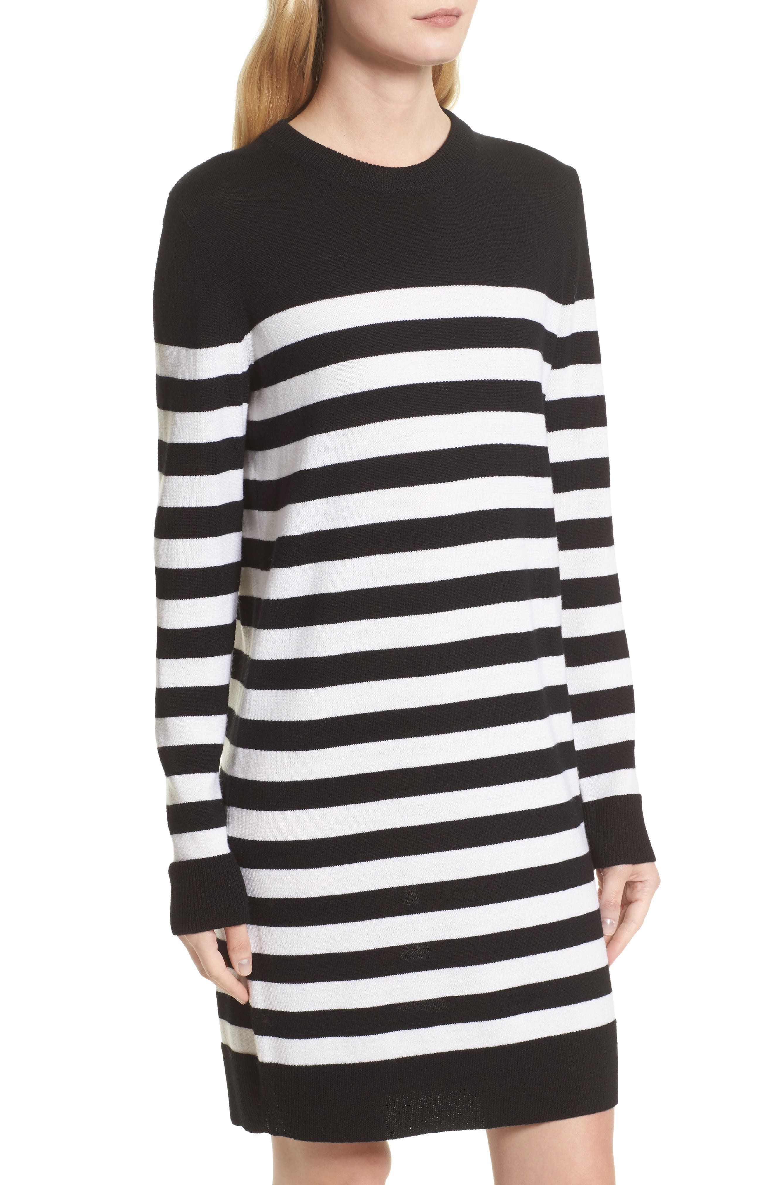 Alternate Image 5  - rag & bone Lilian Stripe Merino Wool Dress (Nordstrom Exclusive)