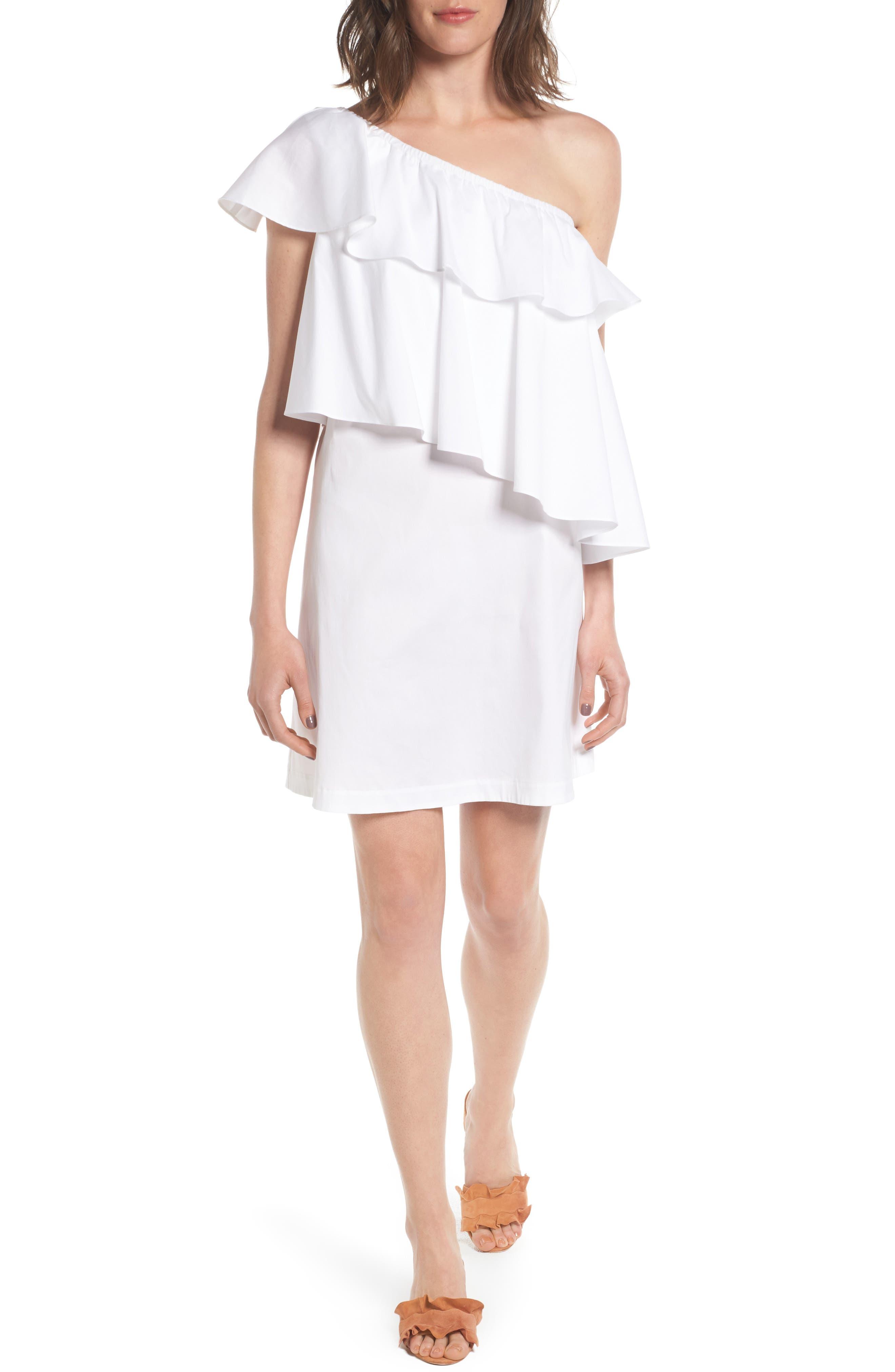 Chelsea28 One-Shoulder Dress