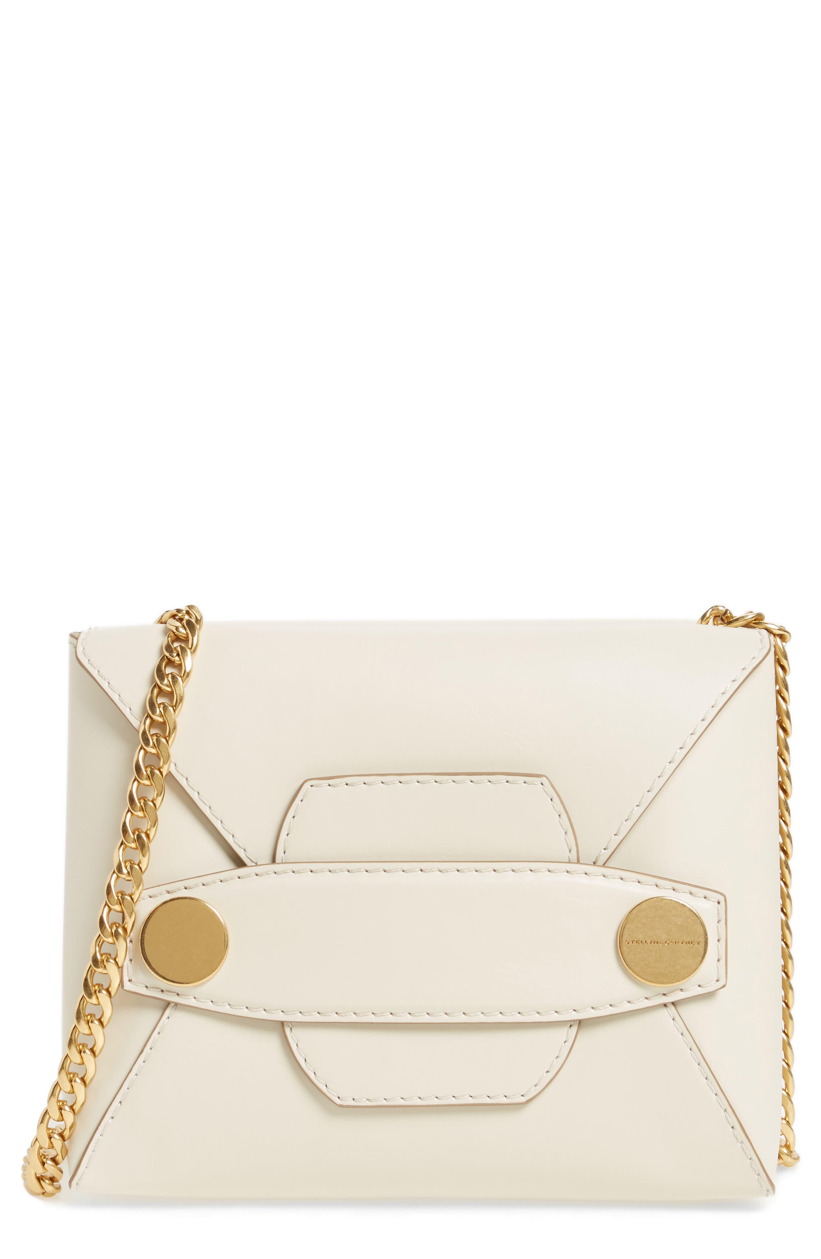Main Image - Stella McCartney Small Faux Leather Crossbody Bag