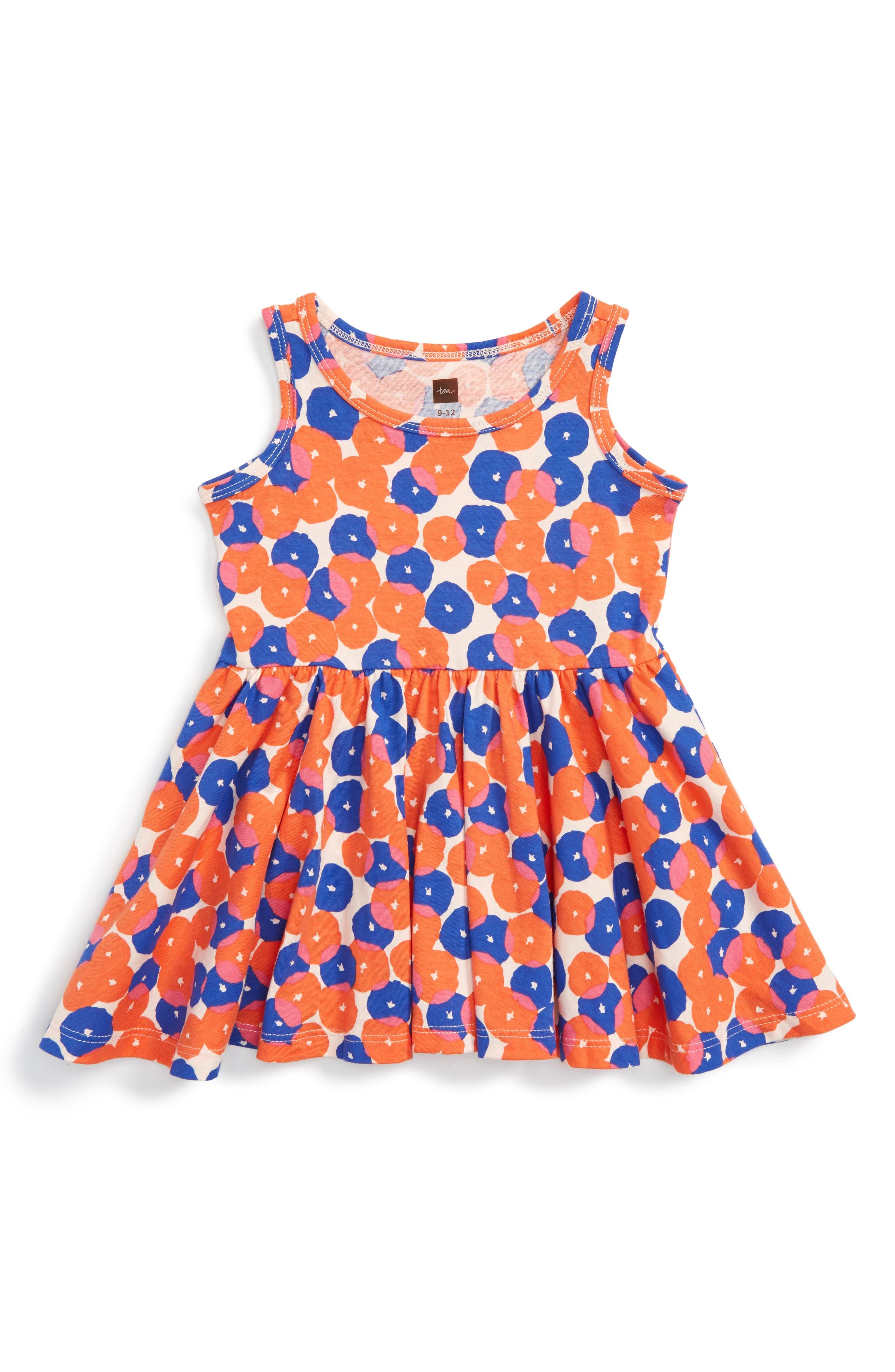 Tea Collection Rock Melon Tank Dress (Baby)