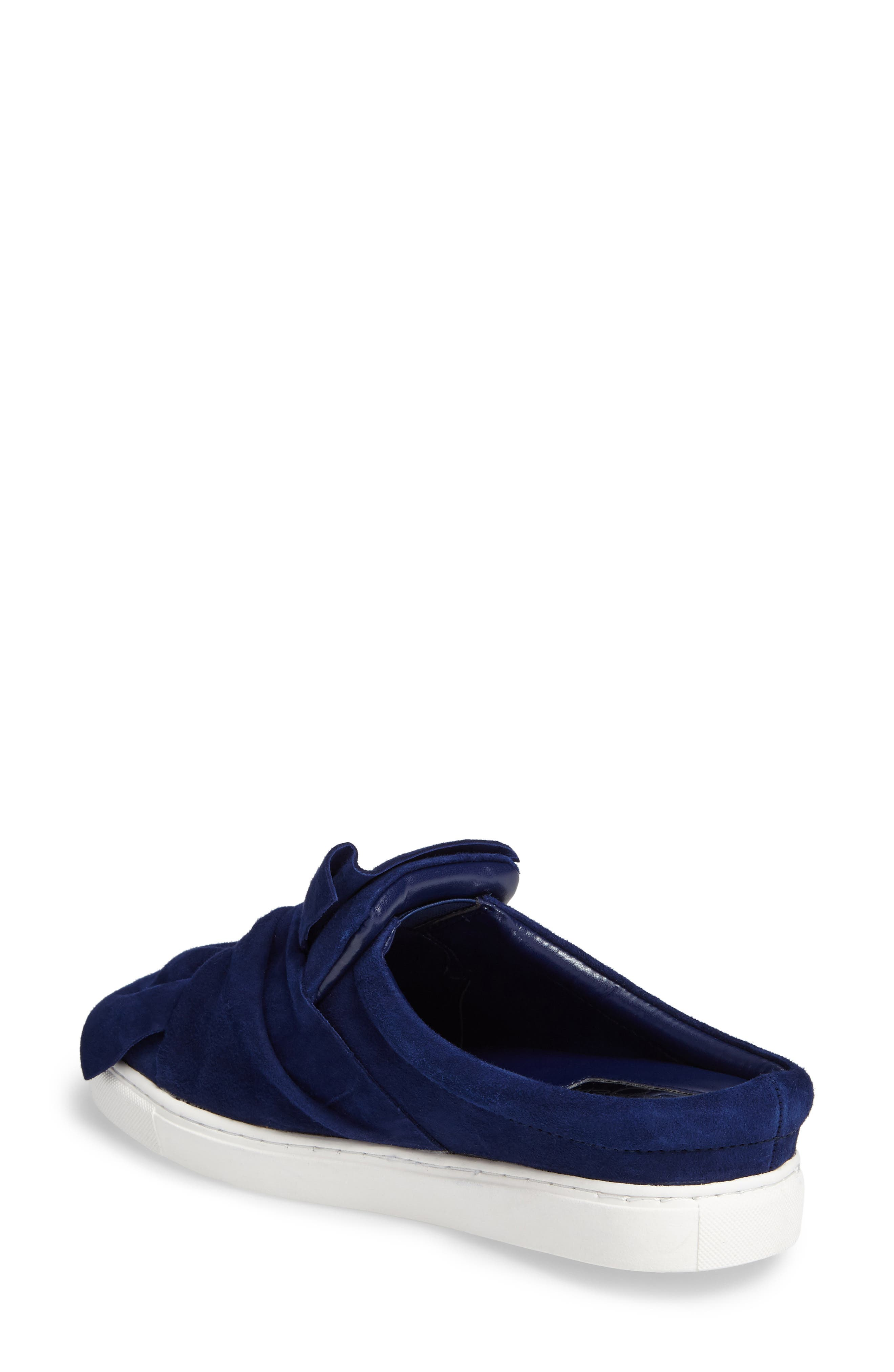 Alternate Image 2  - Halogen® Manny Knotted Slip-On Sneaker (Women)