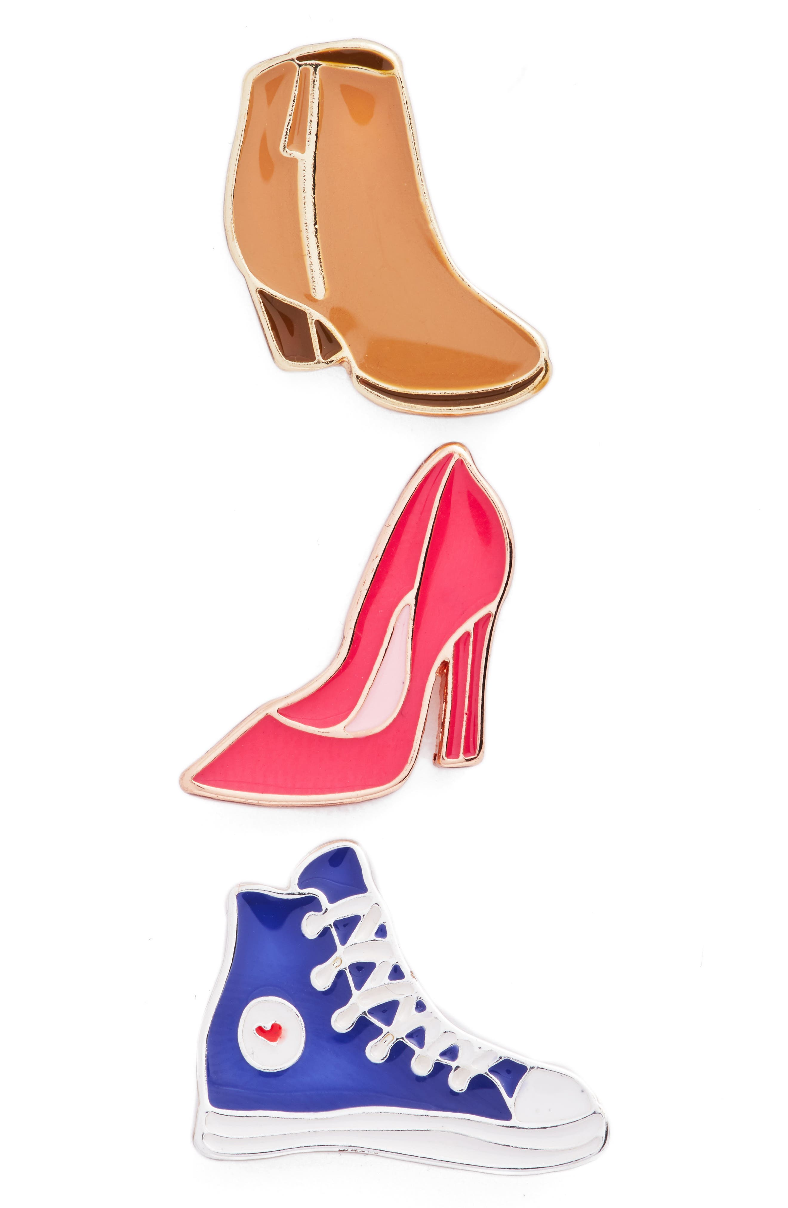Berry Shoe Pack of 3 Pins
