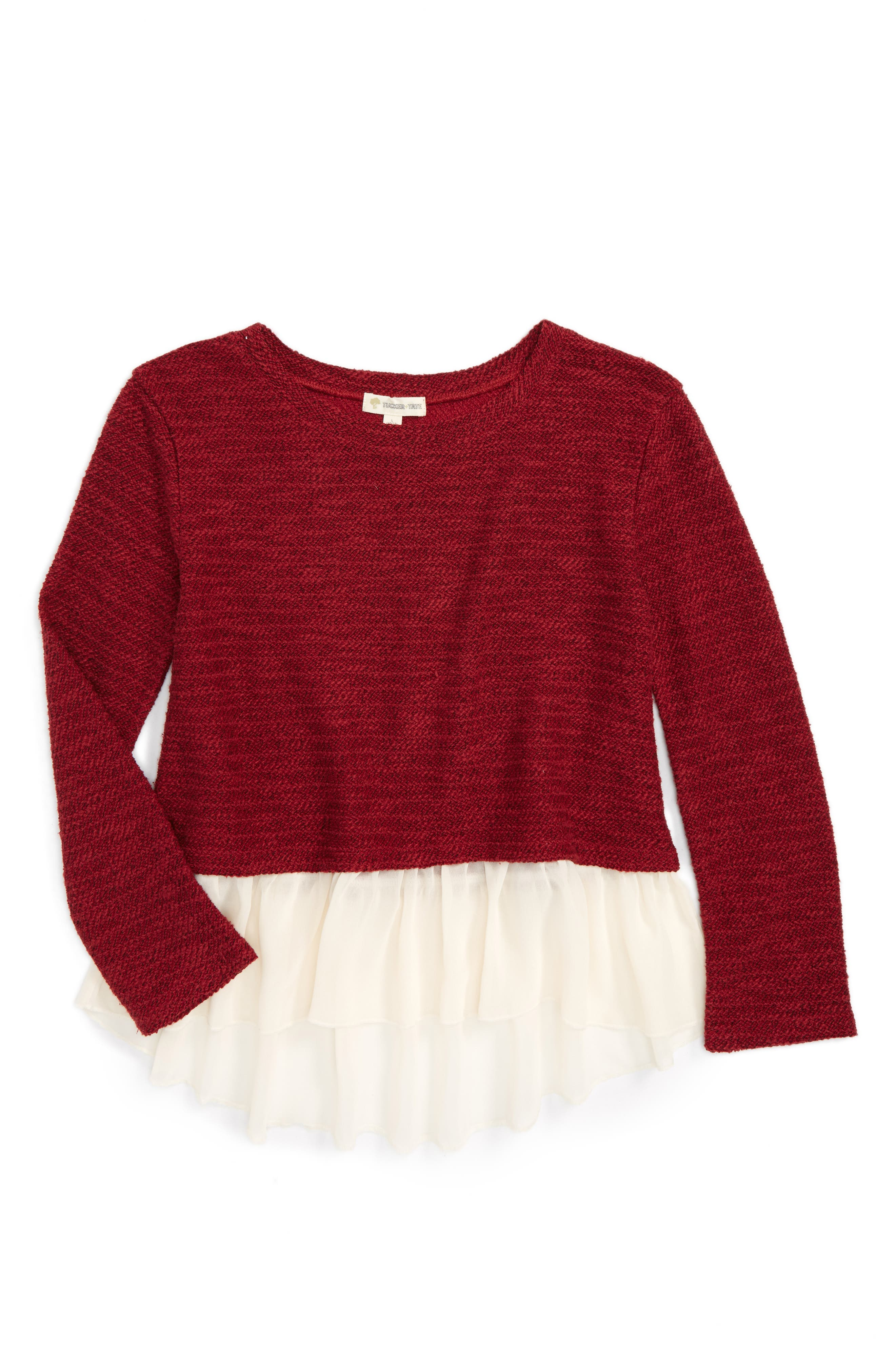 Tucker + Tate Knit Top (Big Girls)
