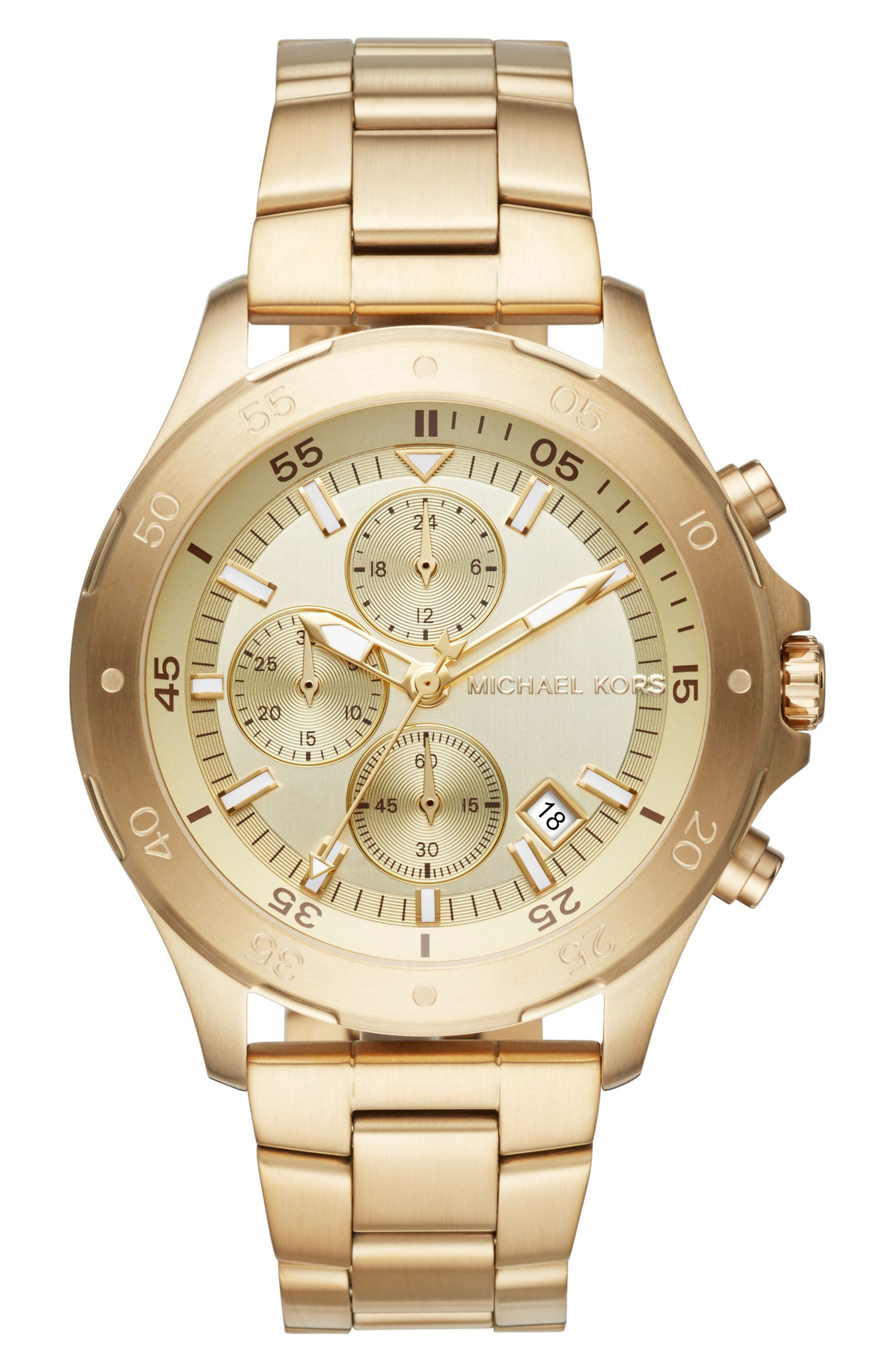 Michael Kors Walsh Chronograph Bracelet Watch, 44mm