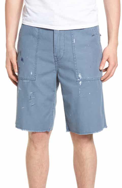 True Religion Brand Jeans Utility Surplus Shorts (Regular   Big)