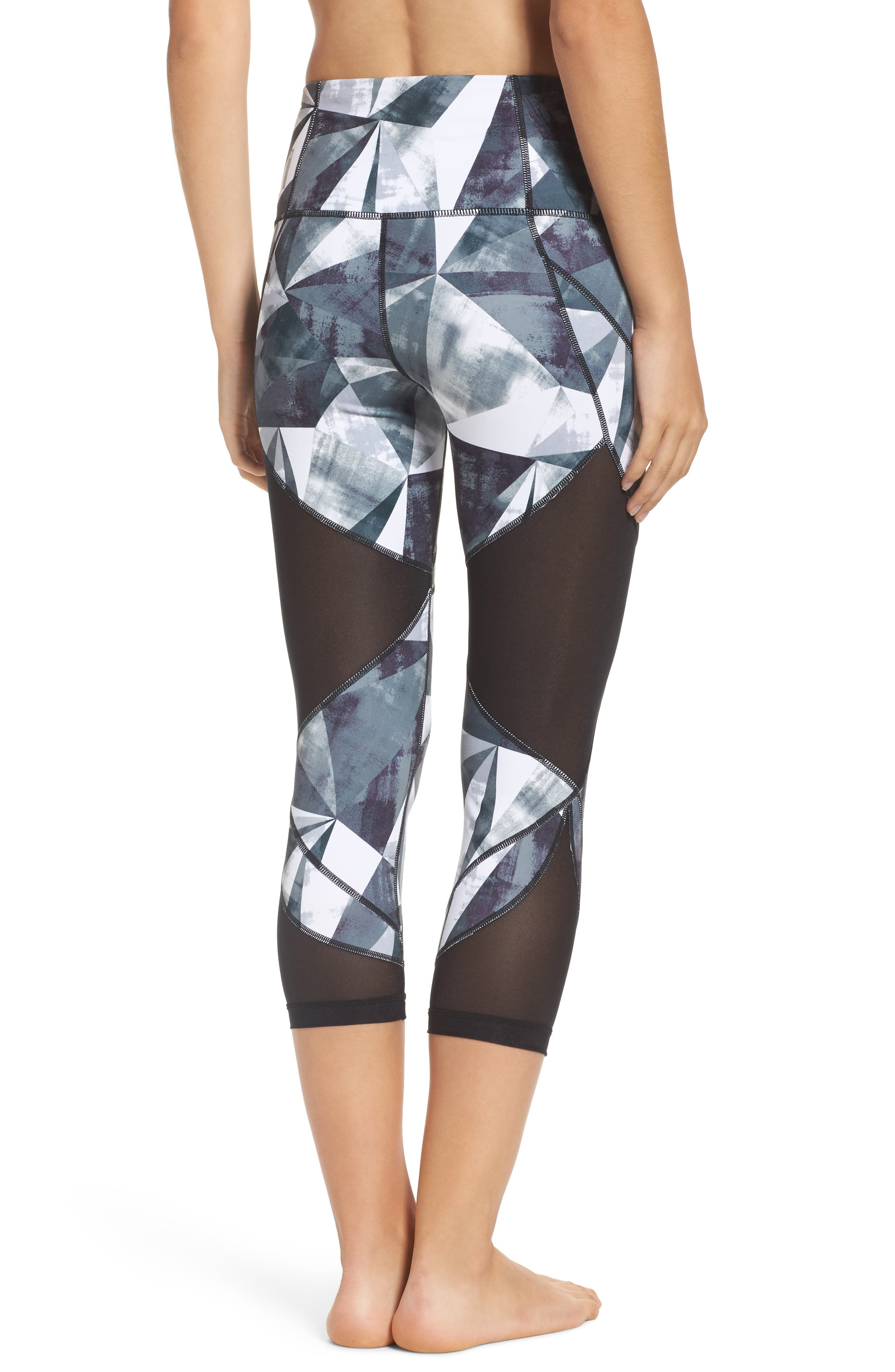 Zella Glam High Waist Crop Leggings