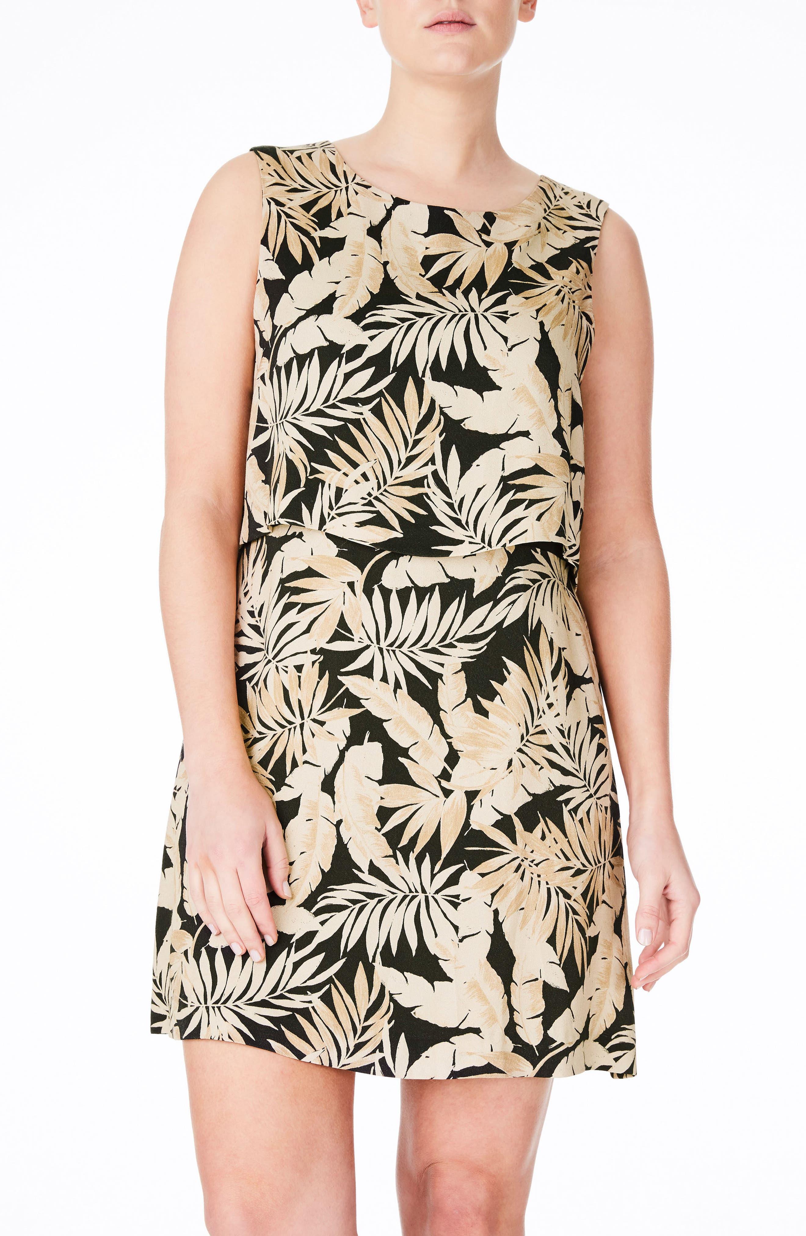 ELVI A-Line Dress (Plus Size)