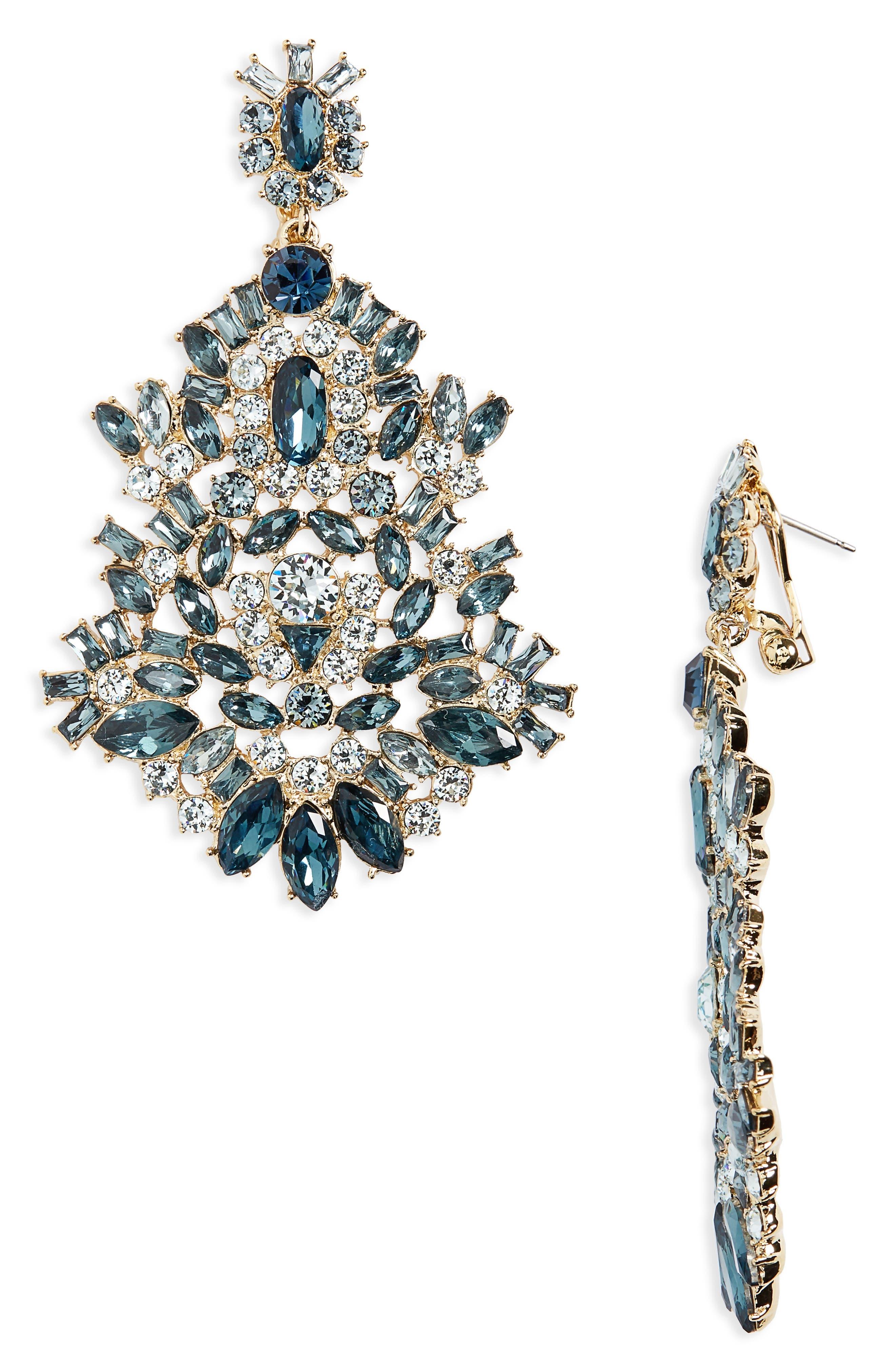 Givenchy Phoenix Drama Chandelier Earrings