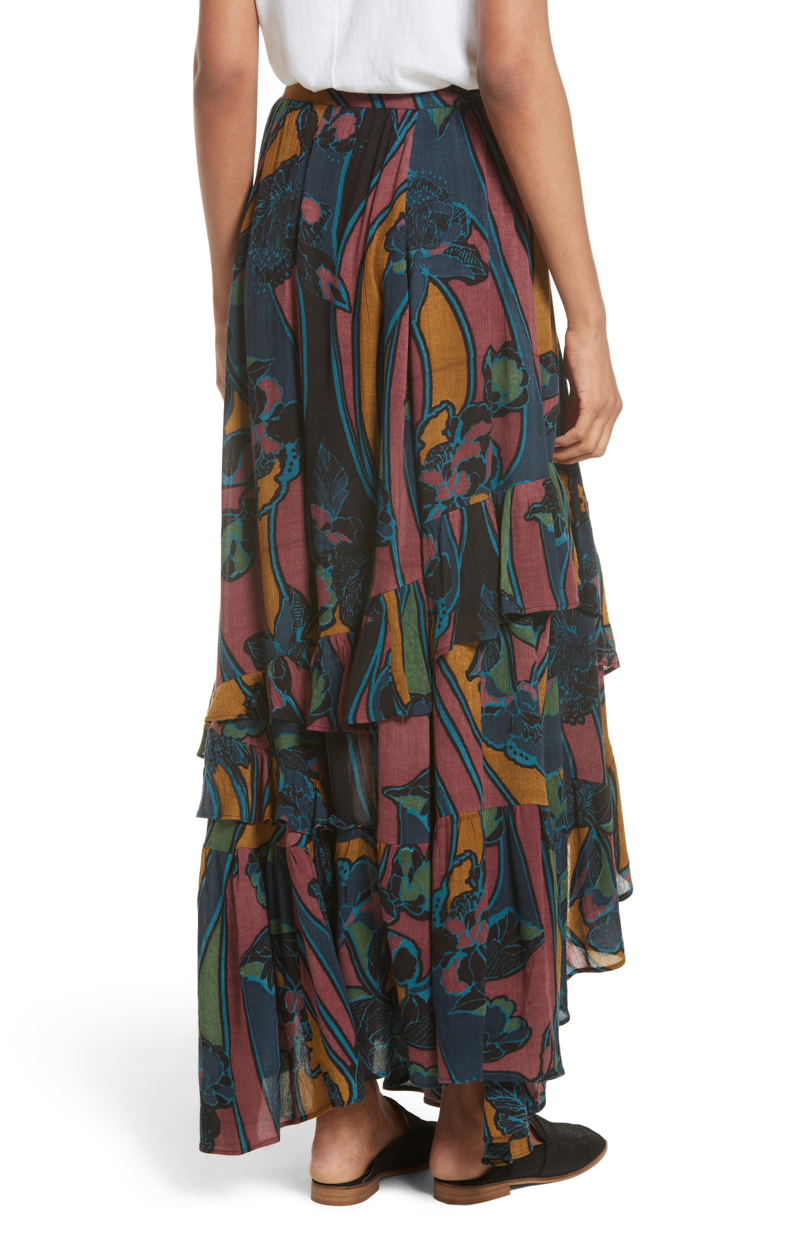 Alternate Image 2  - Free People Bring Back the Summer Maxi Skirt