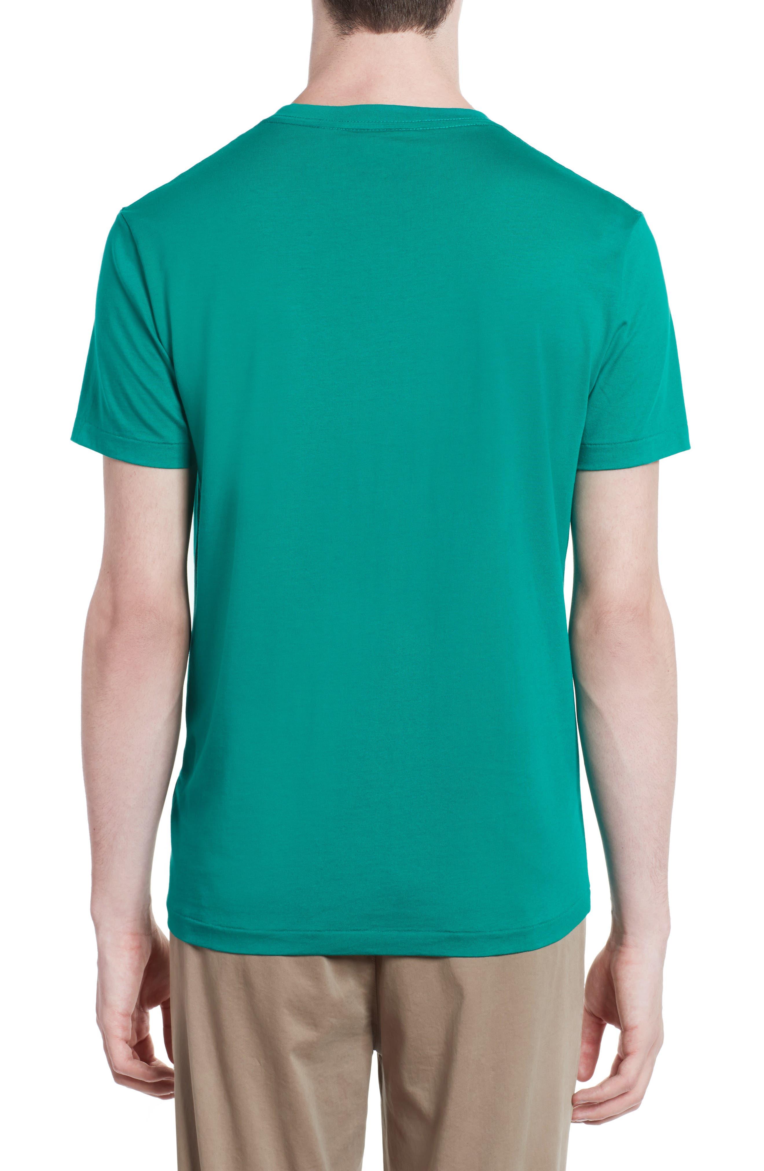 Alternate Image 2  - Burberry Lindon Cotton T-Shirt