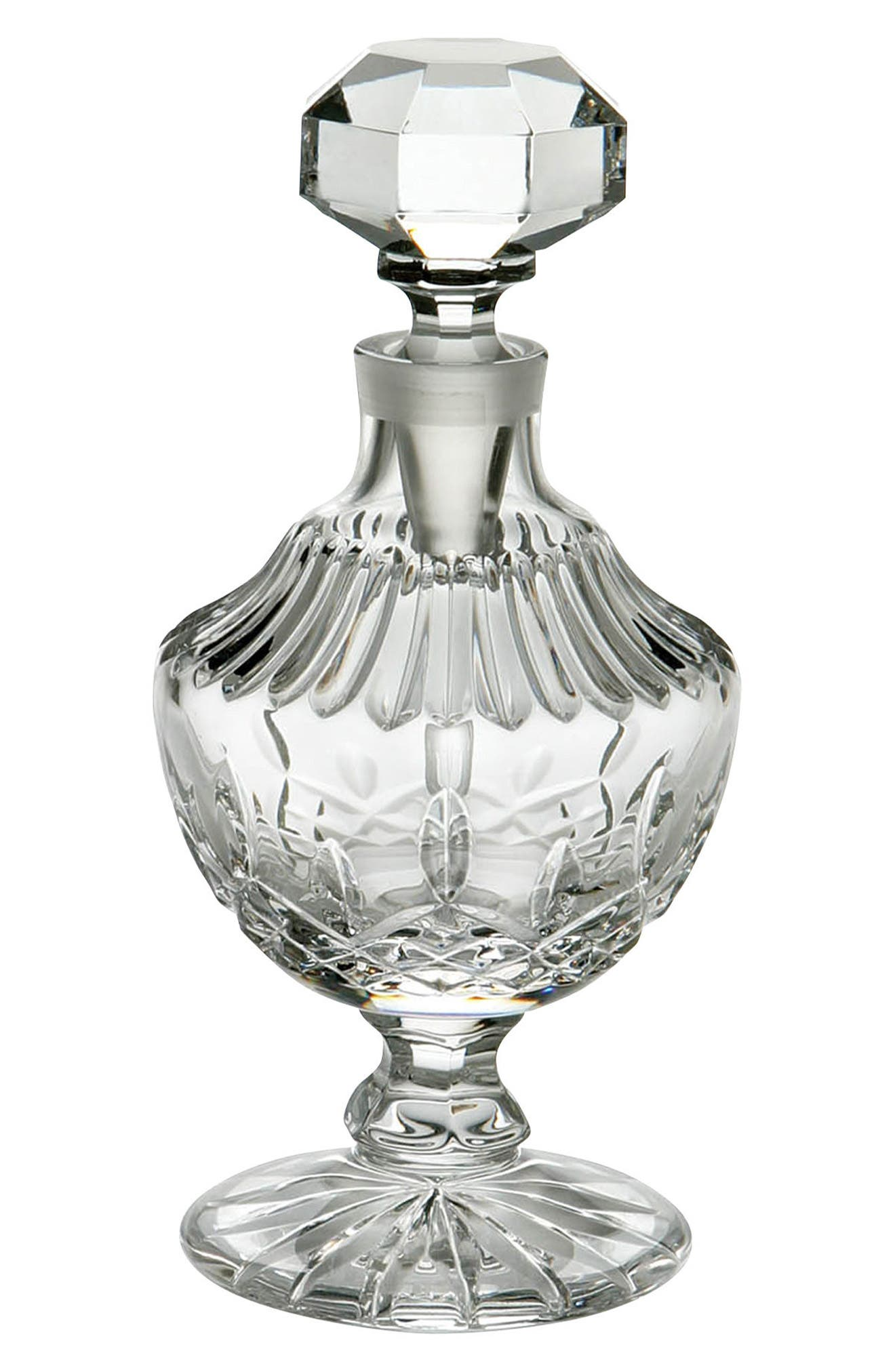 Waterford Lismore Tall Lead Crystal Perfume Bottle