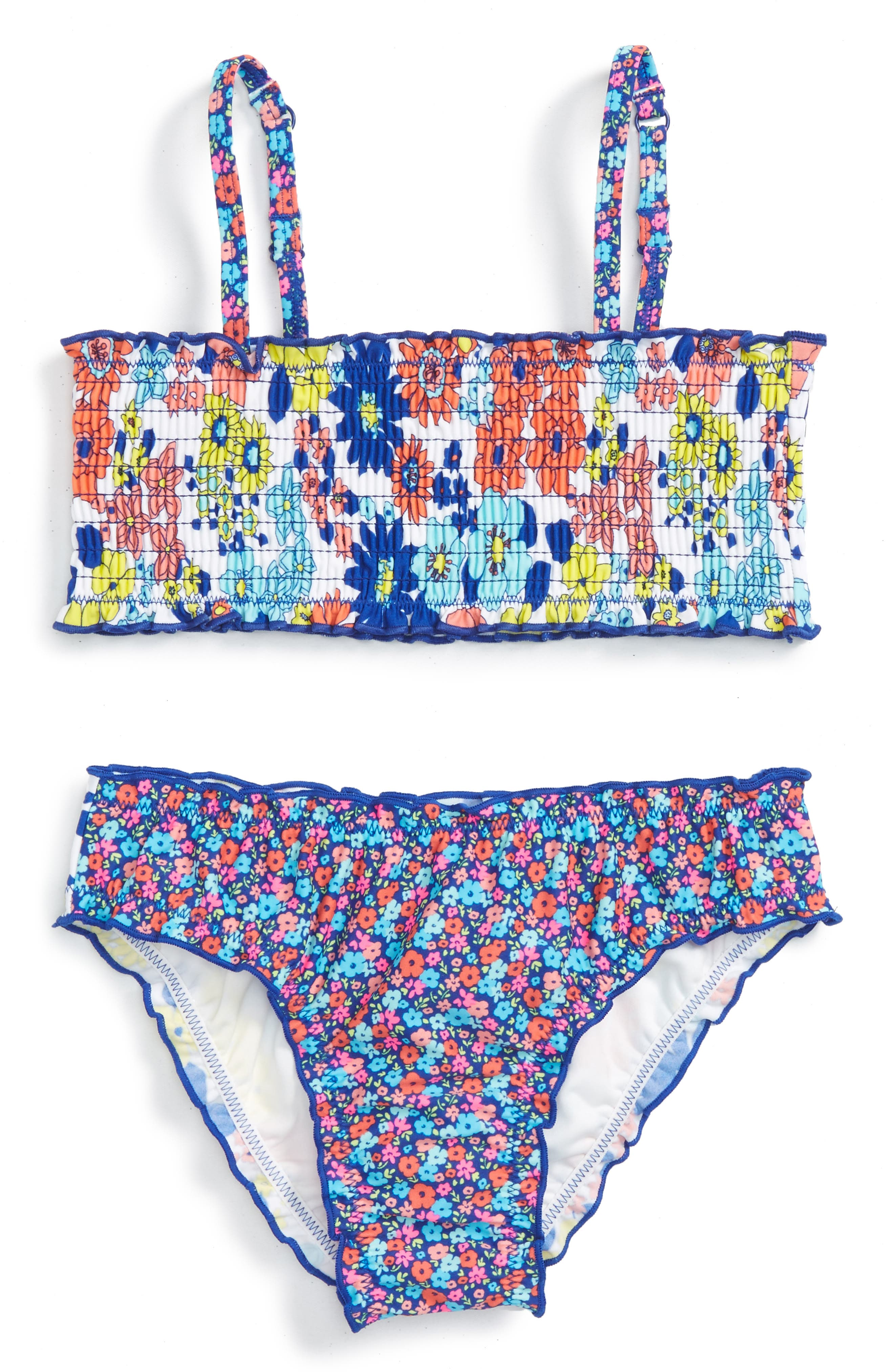 Tucker + Tate Merrow Edge Two-Piece Swimsuit (Toddler Girls, Little Girls & Big Girls)