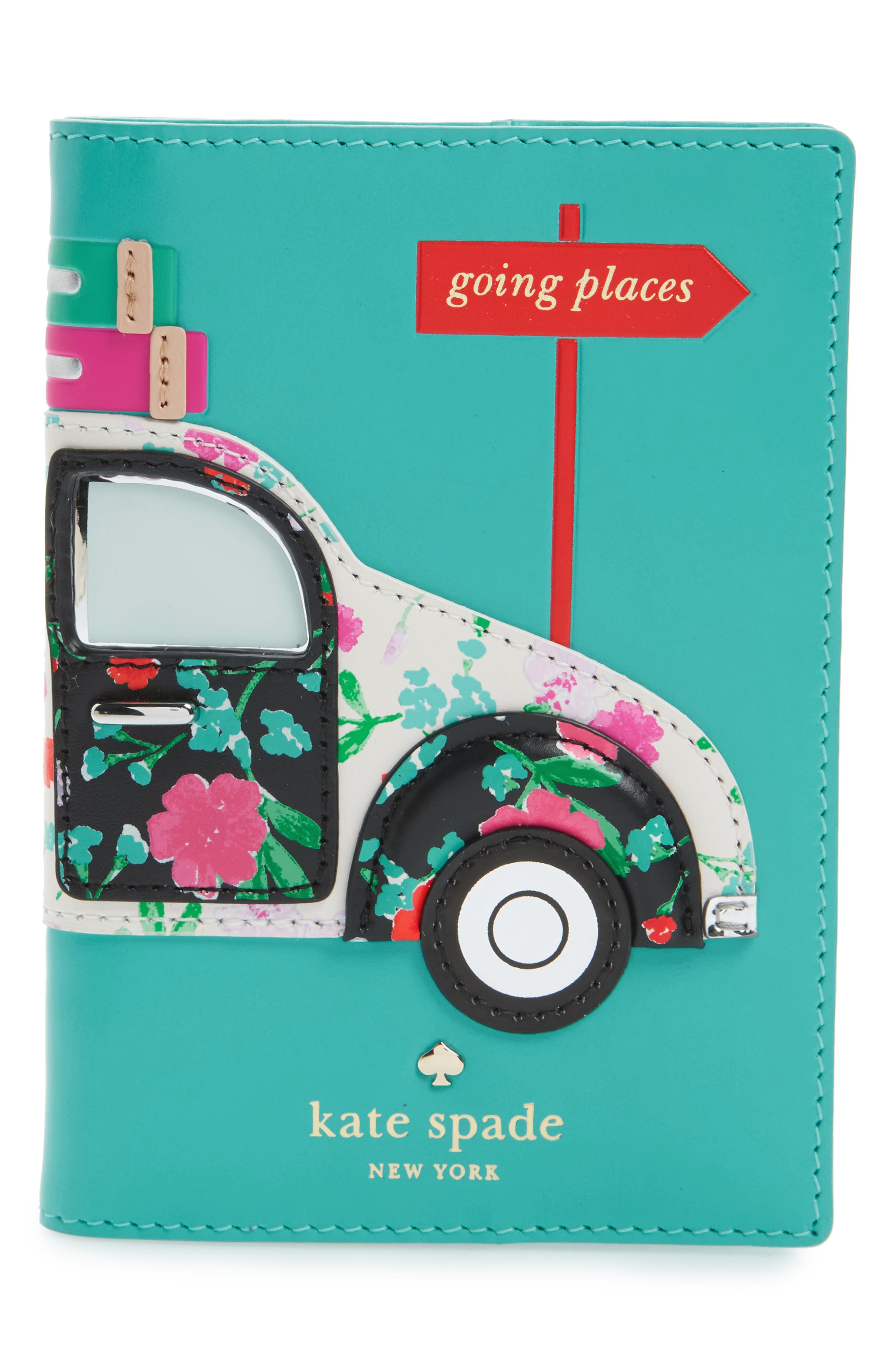Alternate Image 1 Selected - kate spade new york scenic route car passport holder