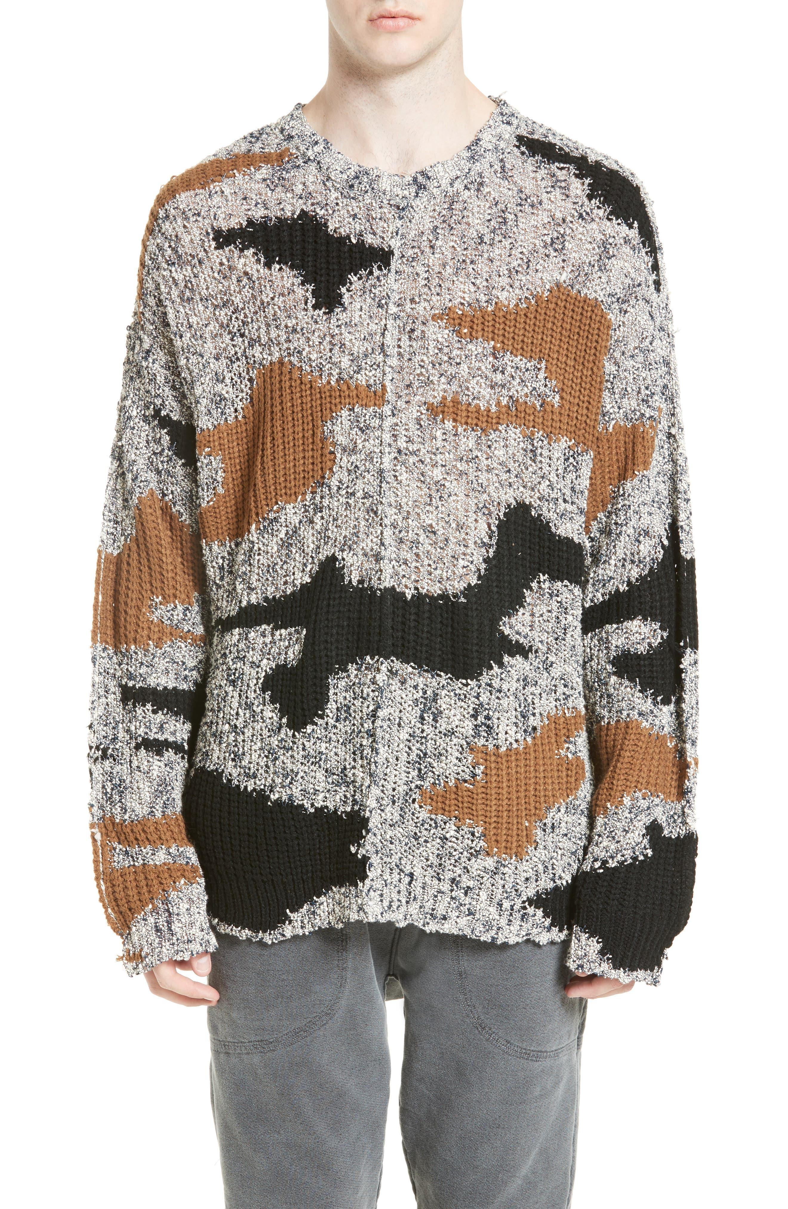 Drifter Contenential Mixed Sweater