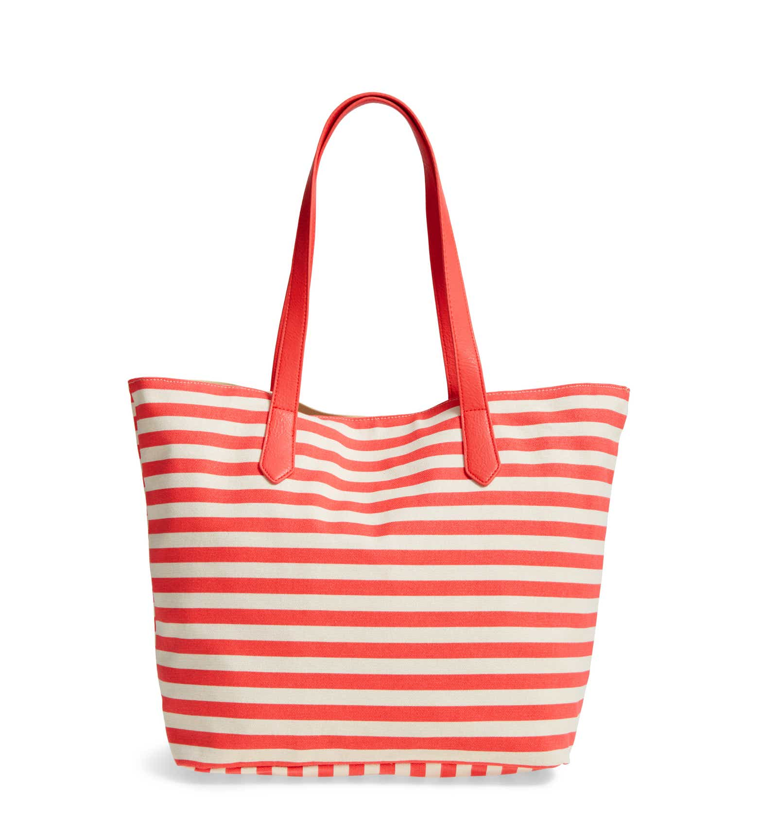 This cute striped tote is only $14.49!