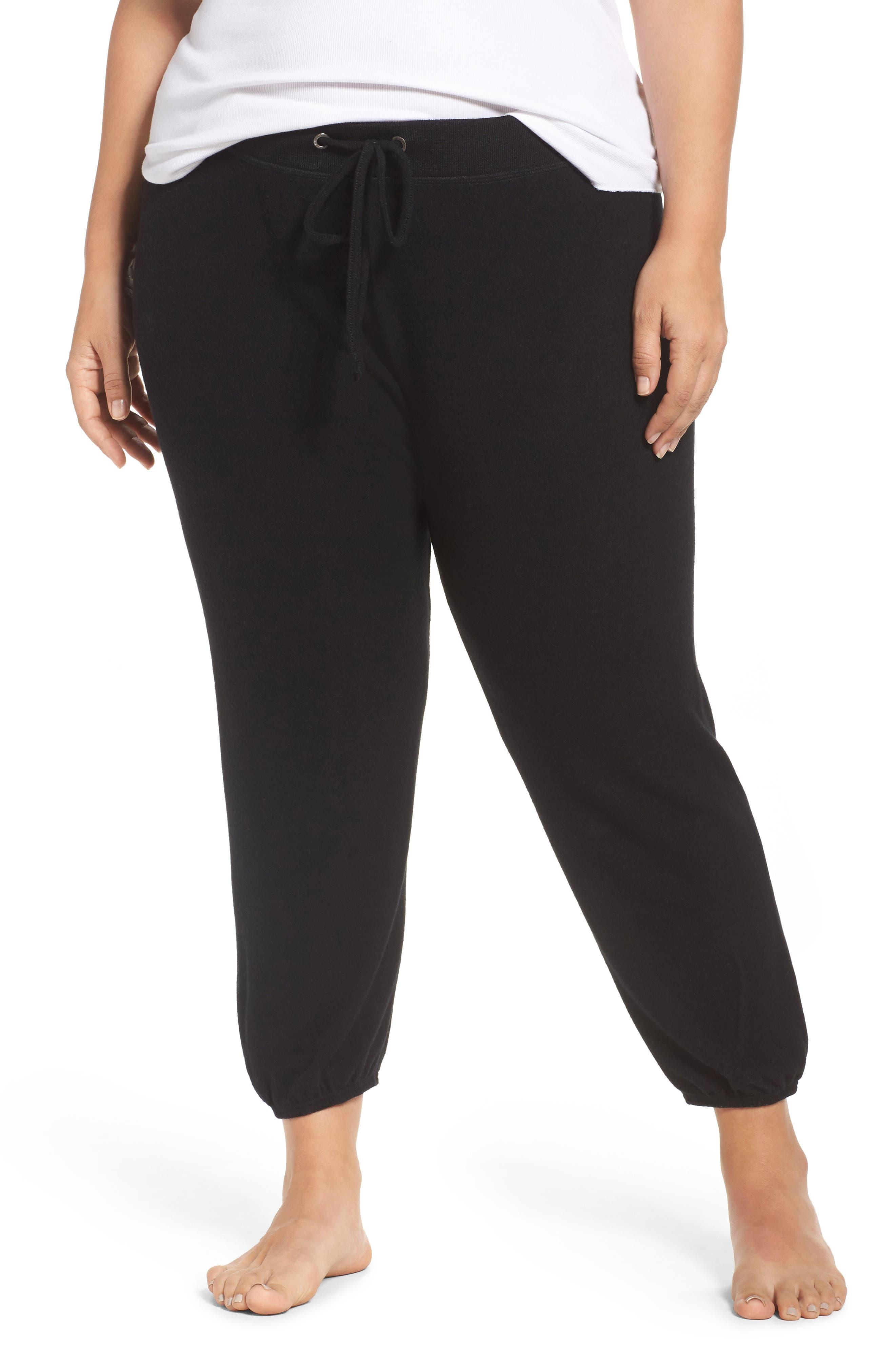 Make + Model Good Vibes Jogger Pants (Plus Size)