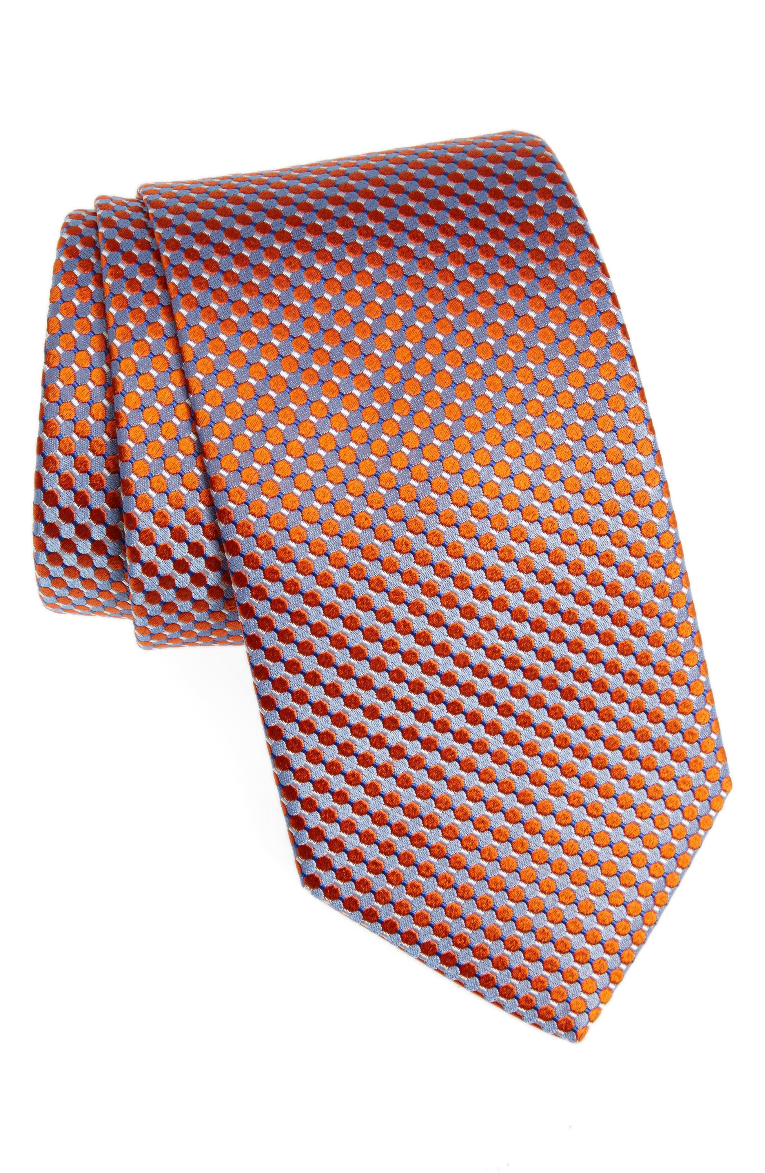 Eton Geometric Silk Tie